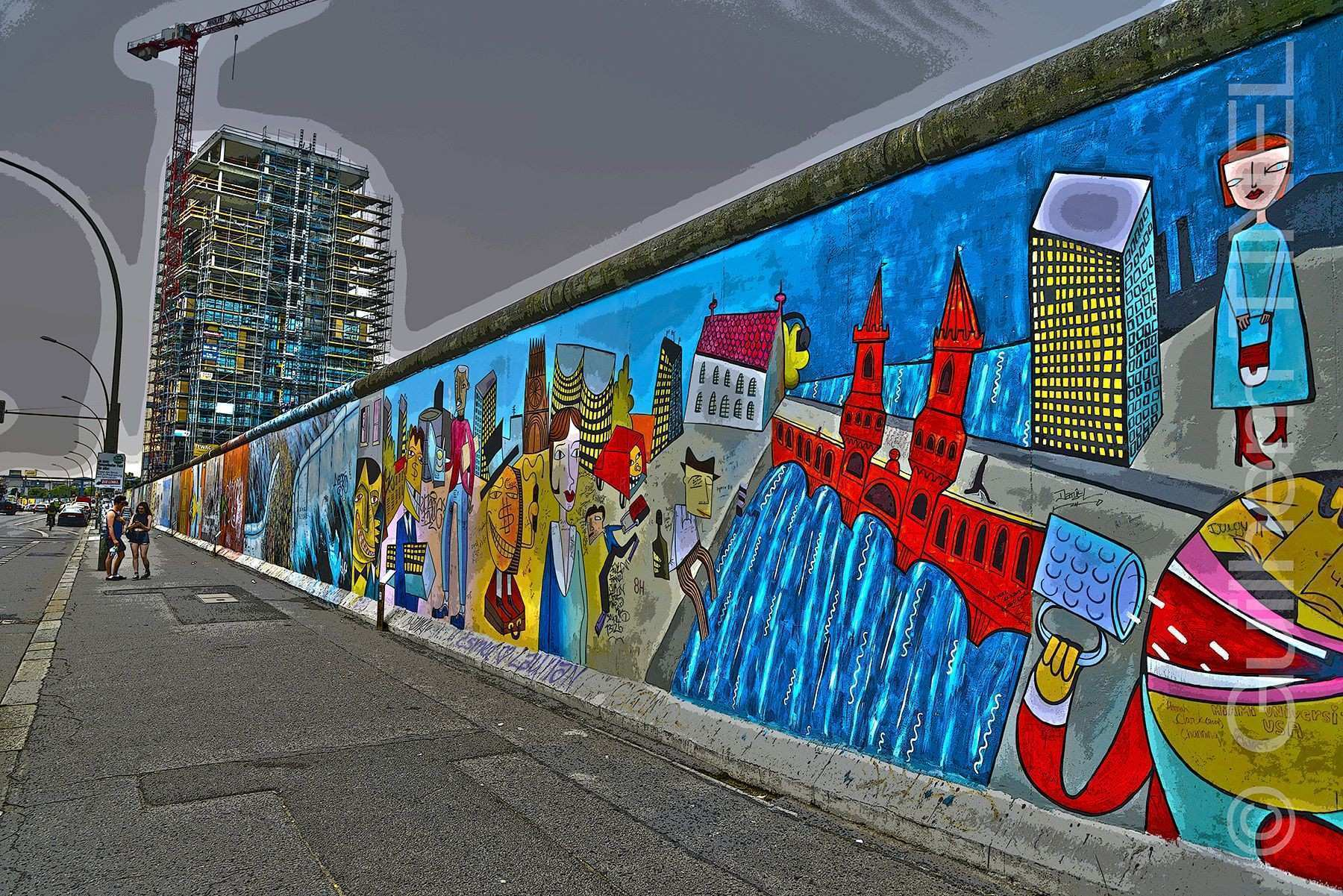 Berlin Wall by Guilhem TINEL on 500px