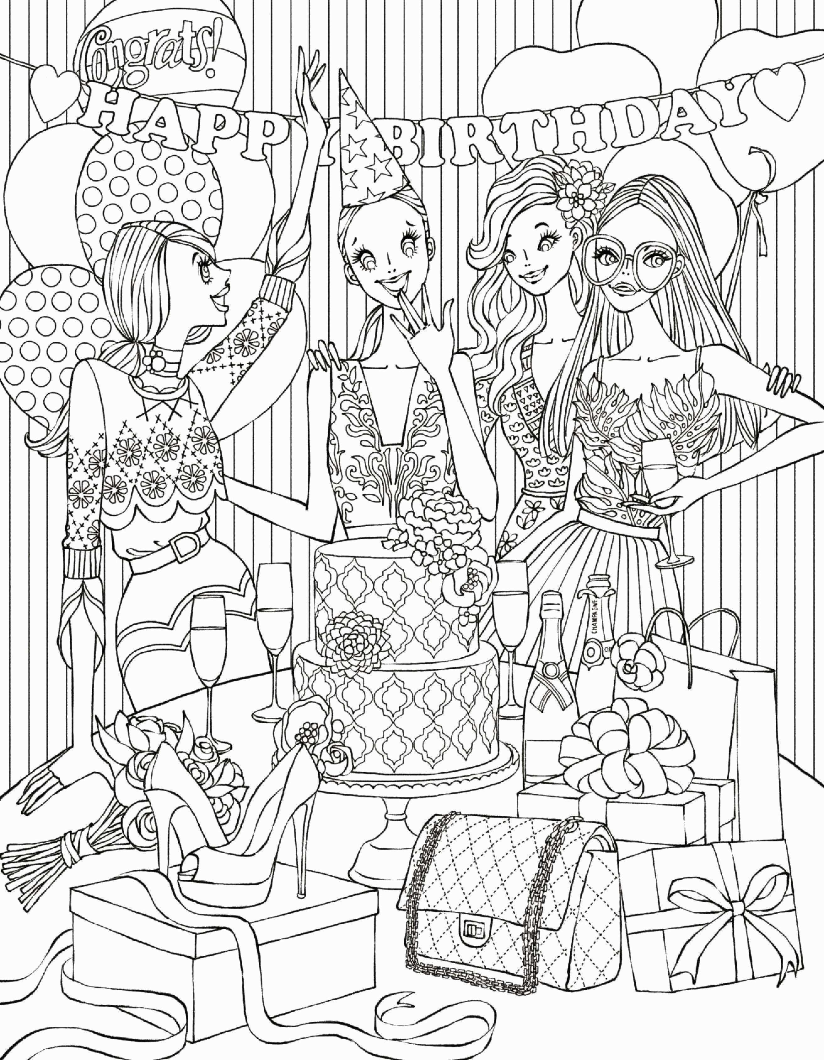18cute New Coloring Books Clip arts & coloring pages