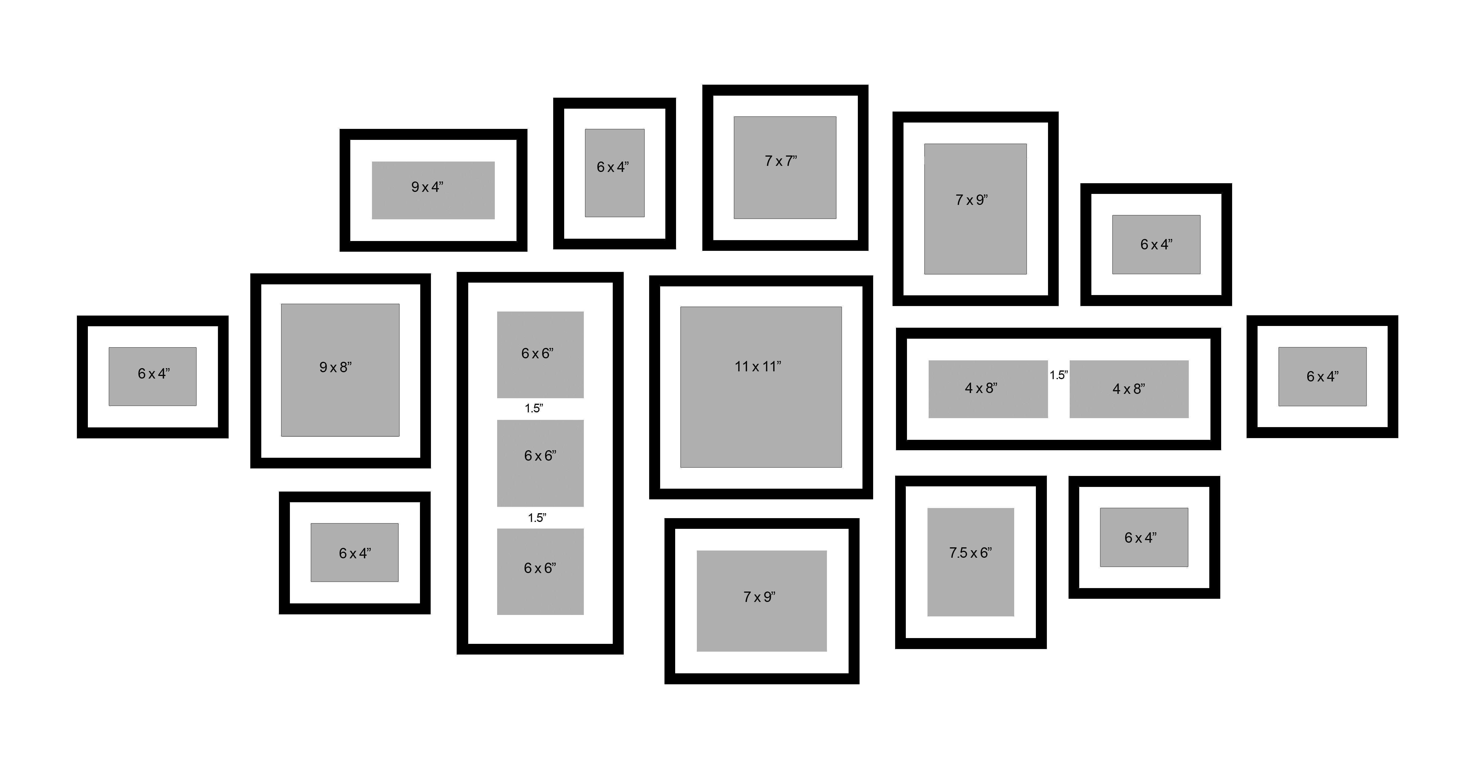 photo wall template one of the best I ve seen