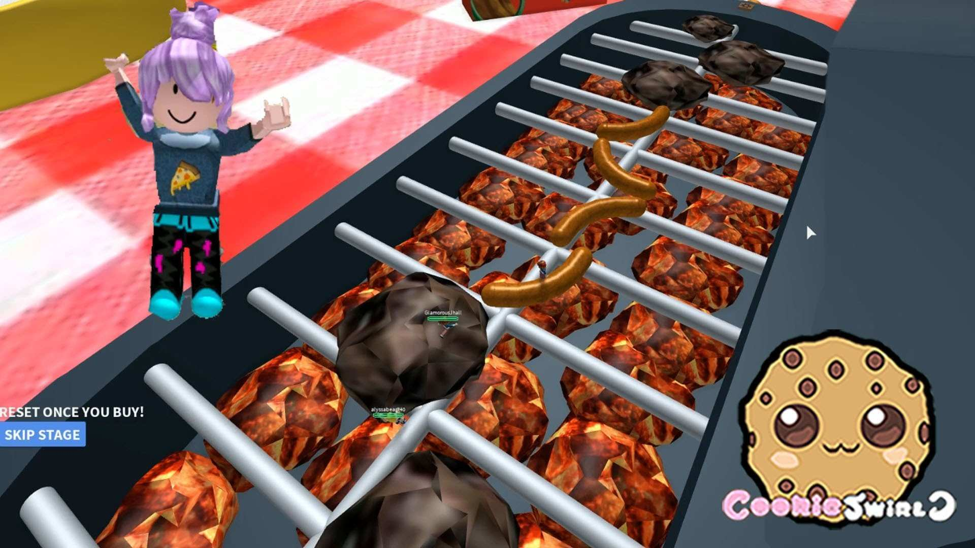 Roblox BBQ Grill High School More Cookieswirlc Let s Play line