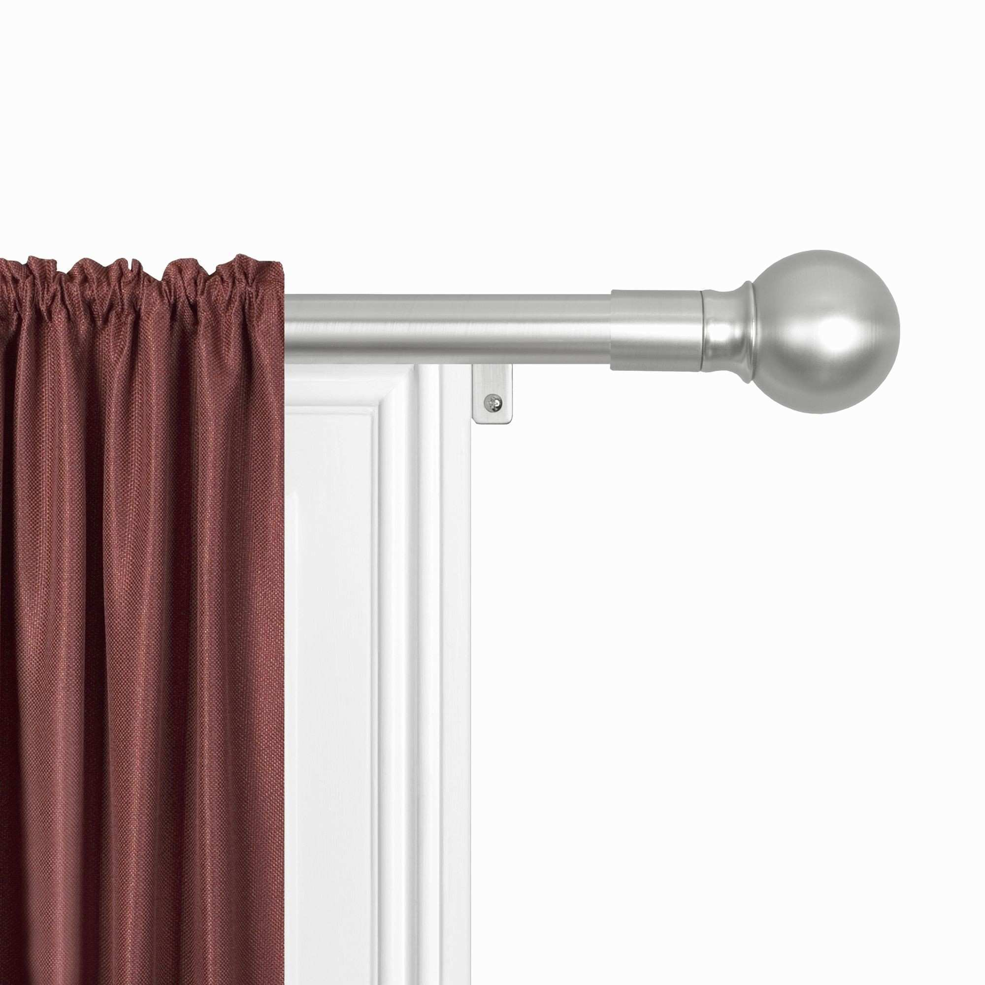 25 Luxury How to Hang Curtain Rods without Nails