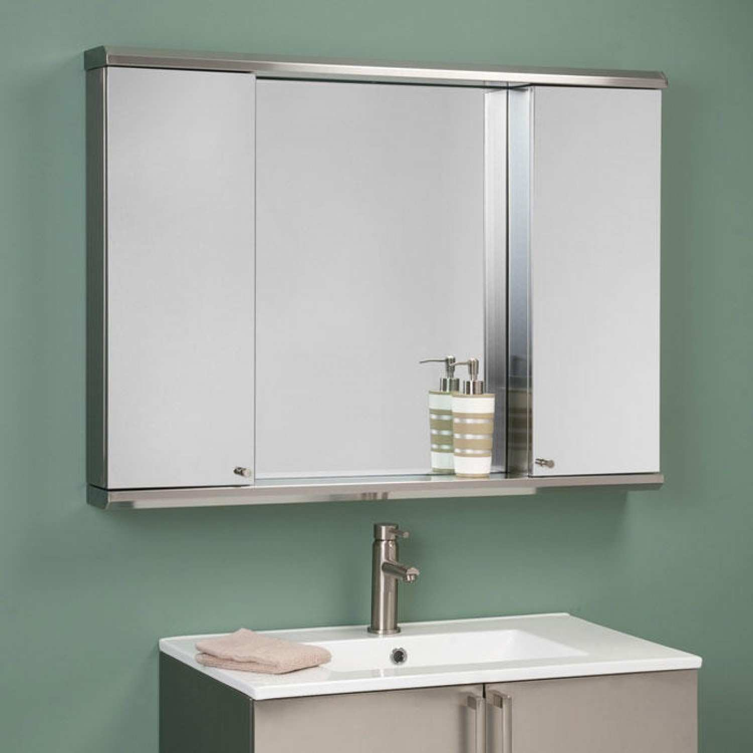 Bathroom Mirror Cabinets for France Bathroom Style — The New Way