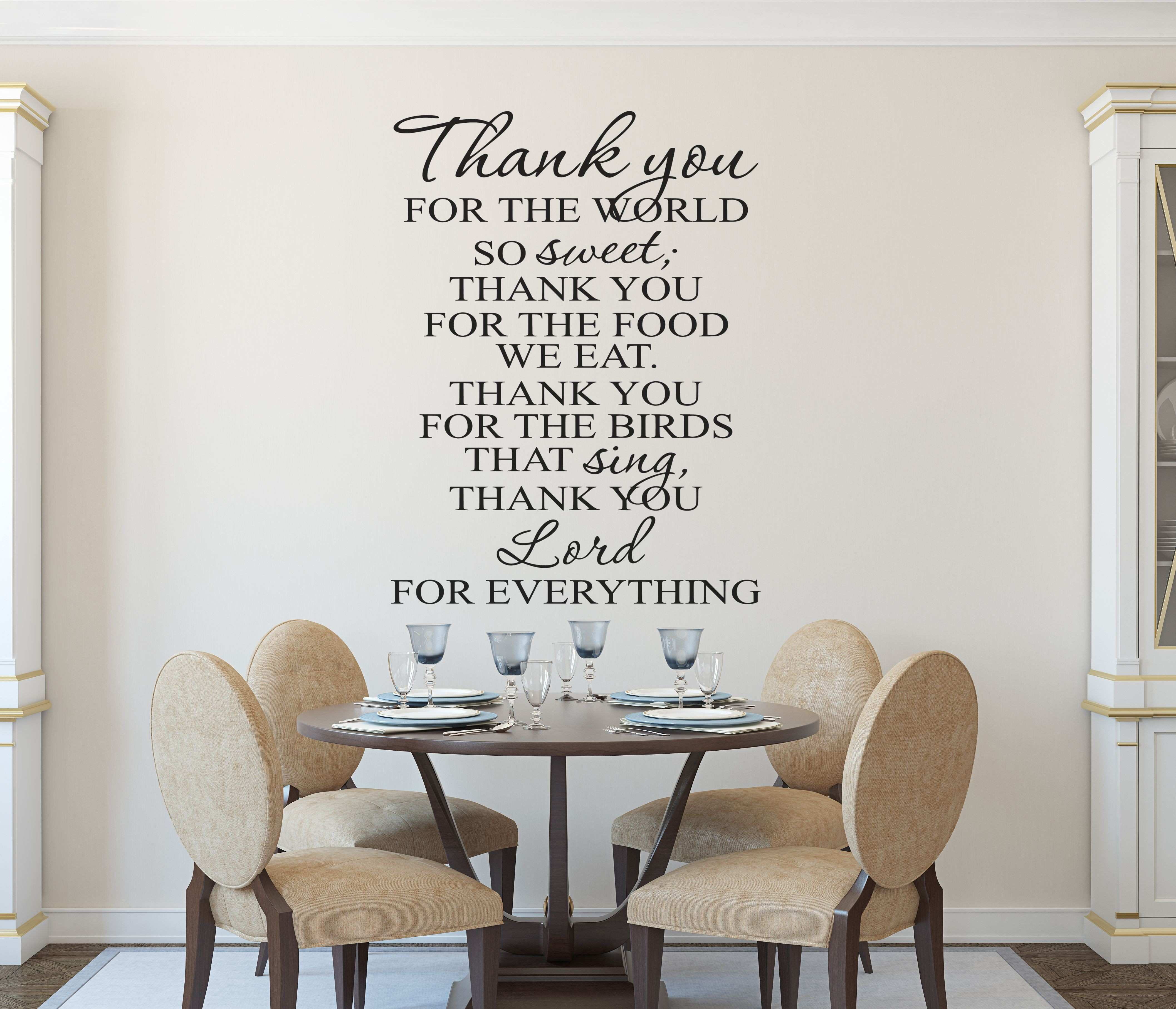 Fresh Wall Decal Bible Verses