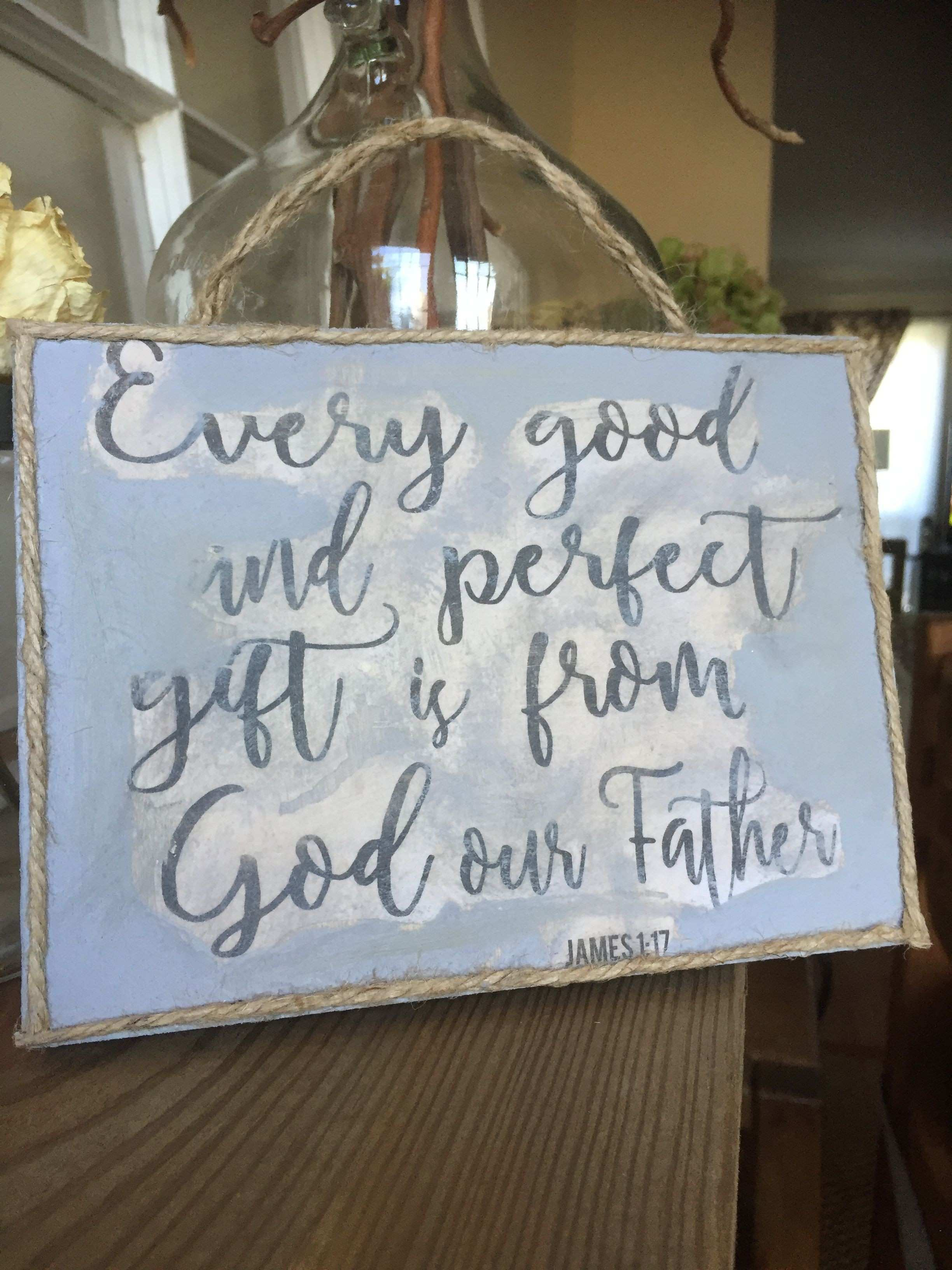 Bible Verse Wall Art Scripture Wood Sign Wood and Rope Signs DIY