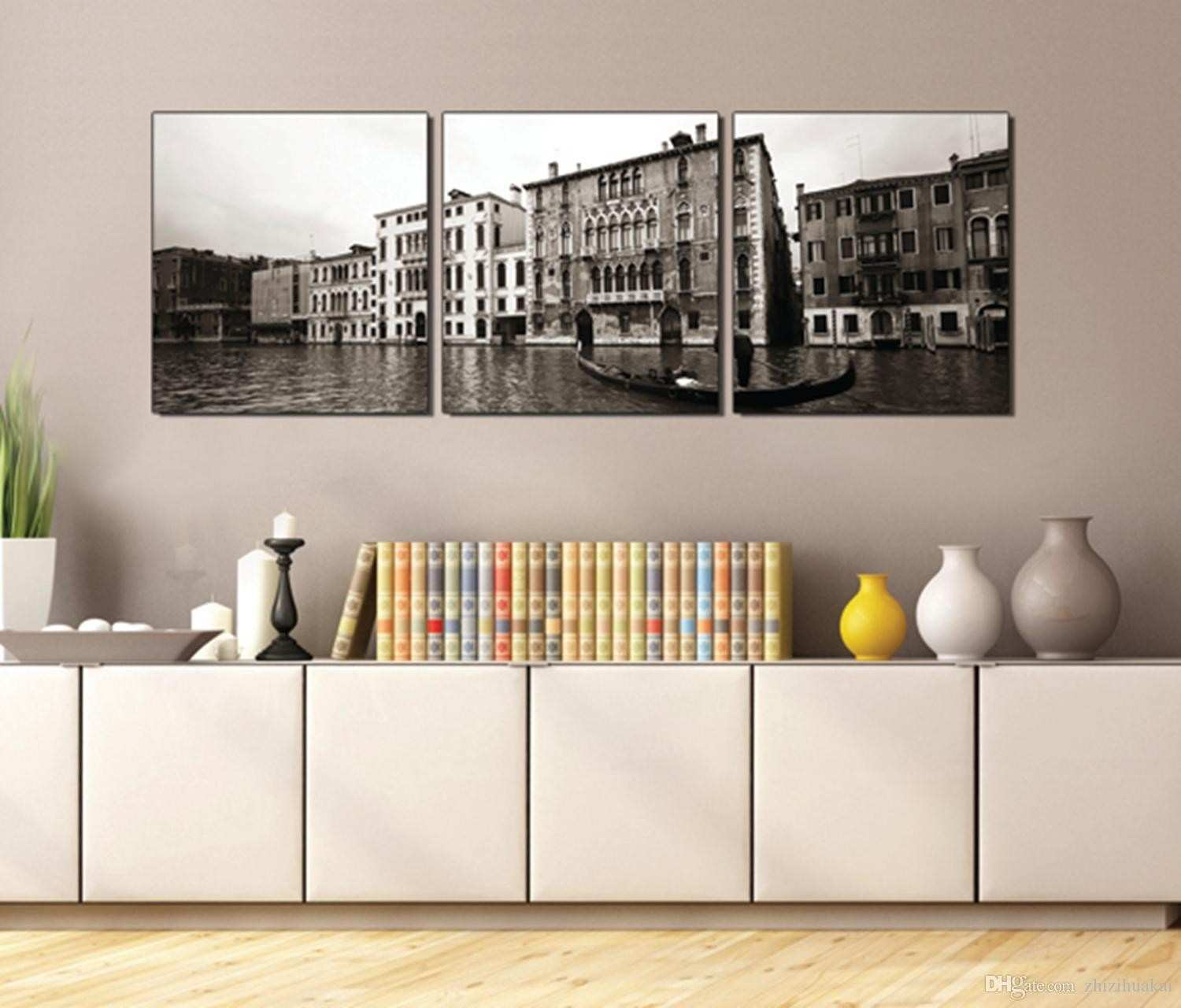 2018 Wall Painting Art Picture Paint Canvas Prints Venice Seaside