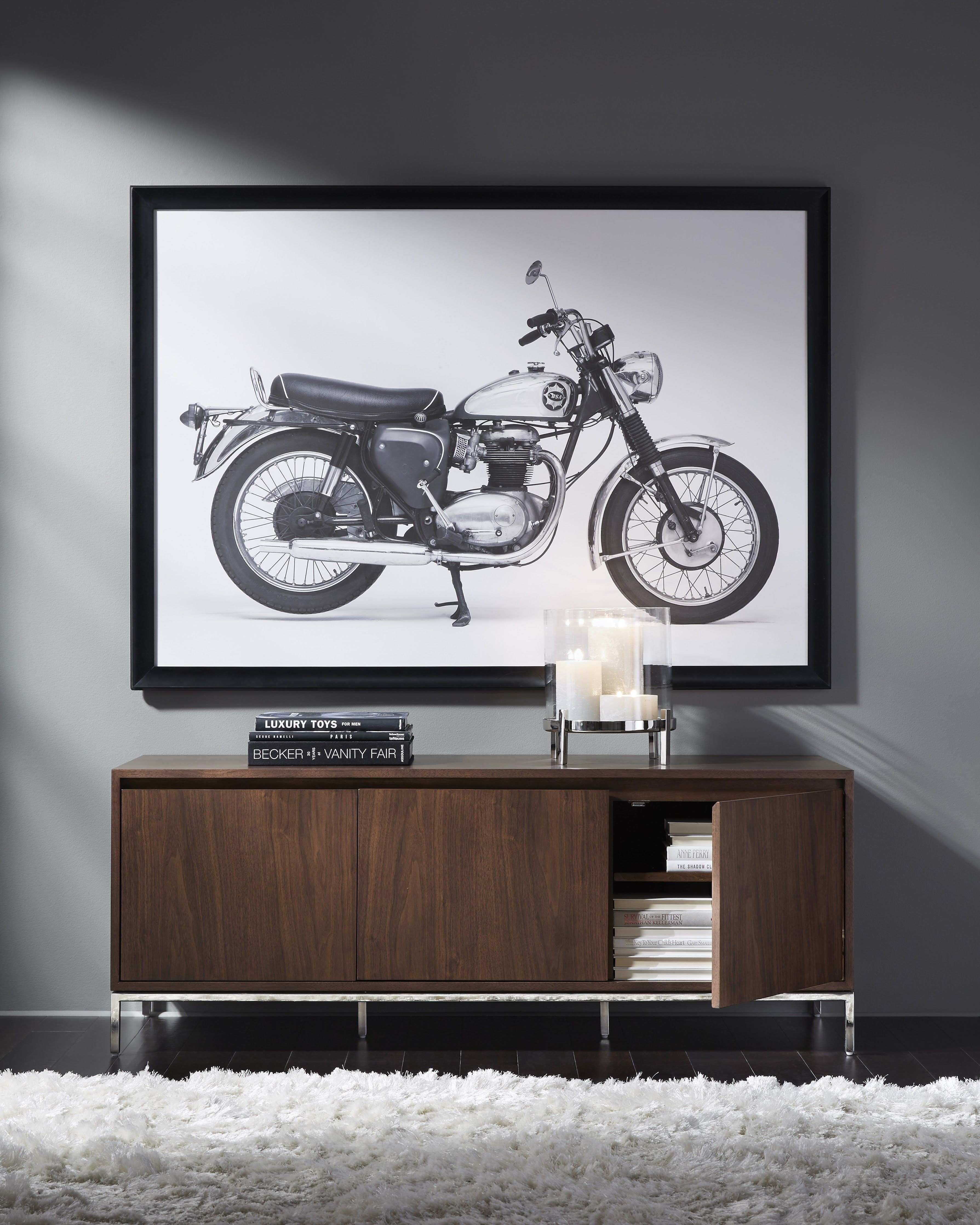 MG BW BSA Motorcycle Wall Art Exclusively ours Classic cool
