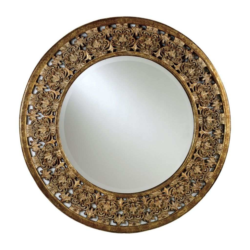 Big Round Mirror Awesome Round Florentine Mirror Ethan Allen Us Client