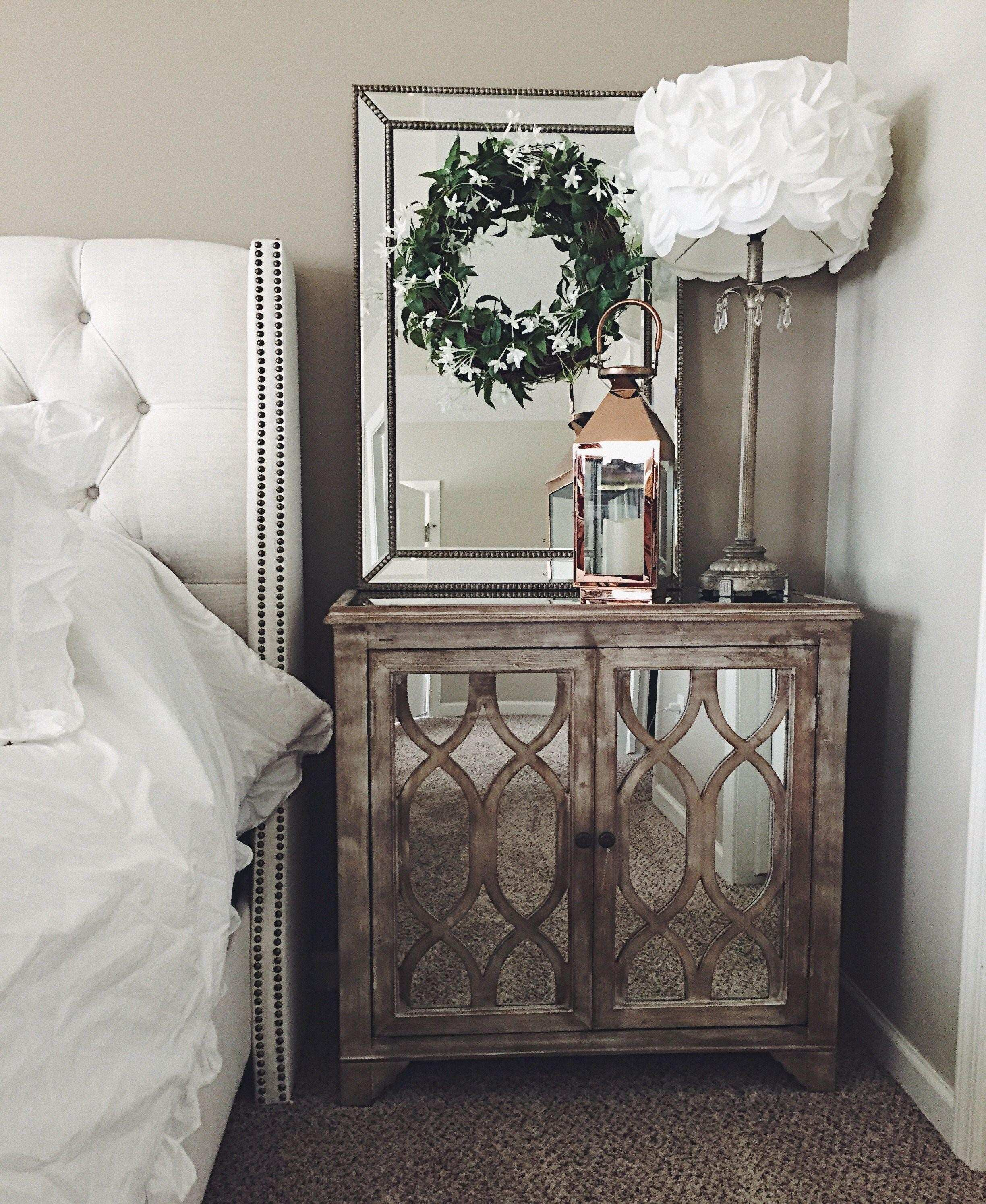 Home Design Mirrored Bedside Table Beautiful Mirrored Wardrobe