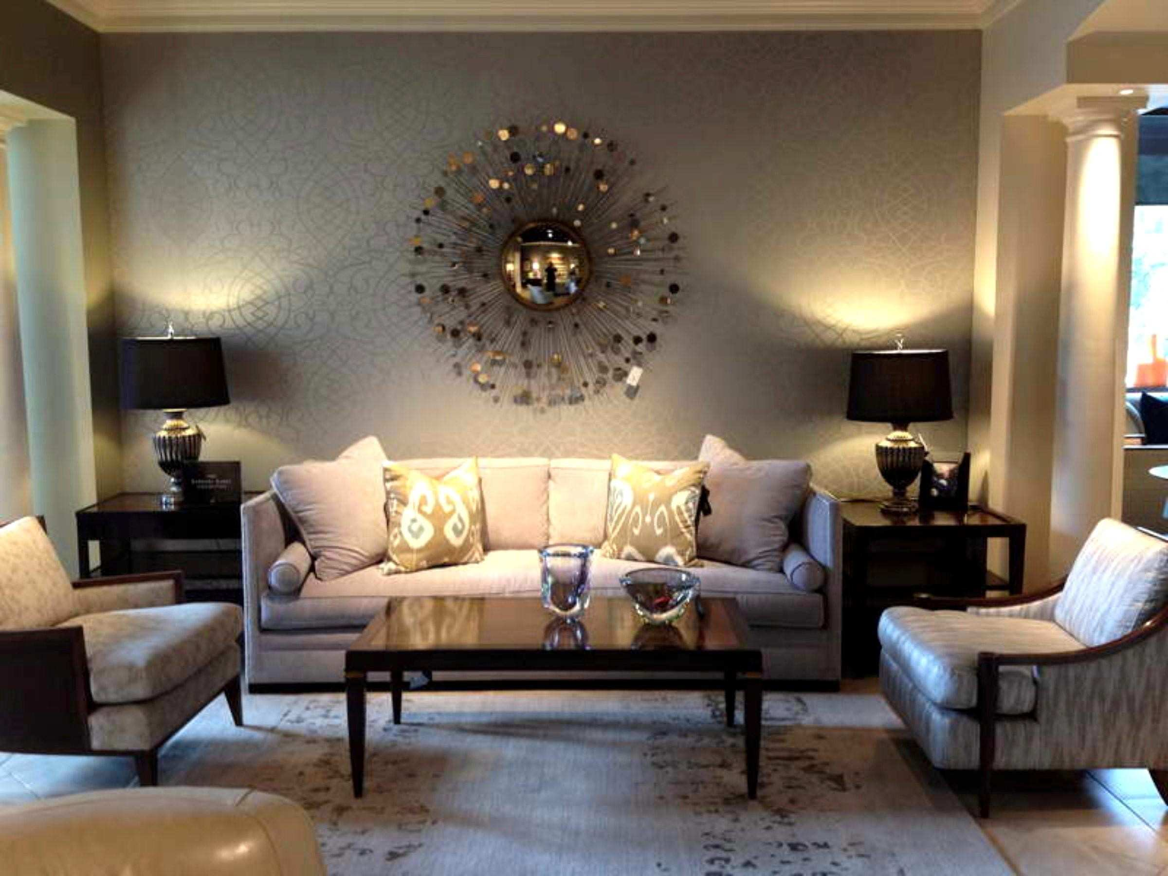 Cute Brilliant Living Room Wall Decorating Ideas E Wall Decor