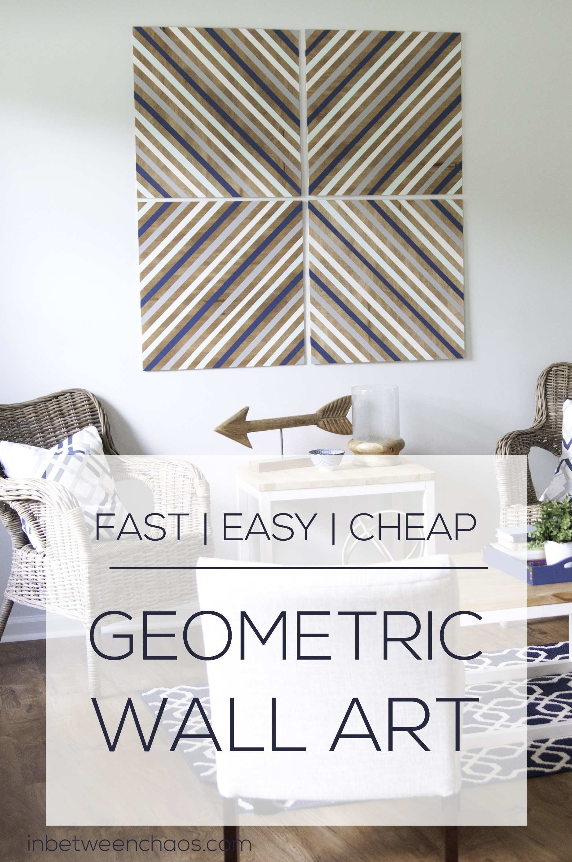 Easy and Cheap Big Wall Art