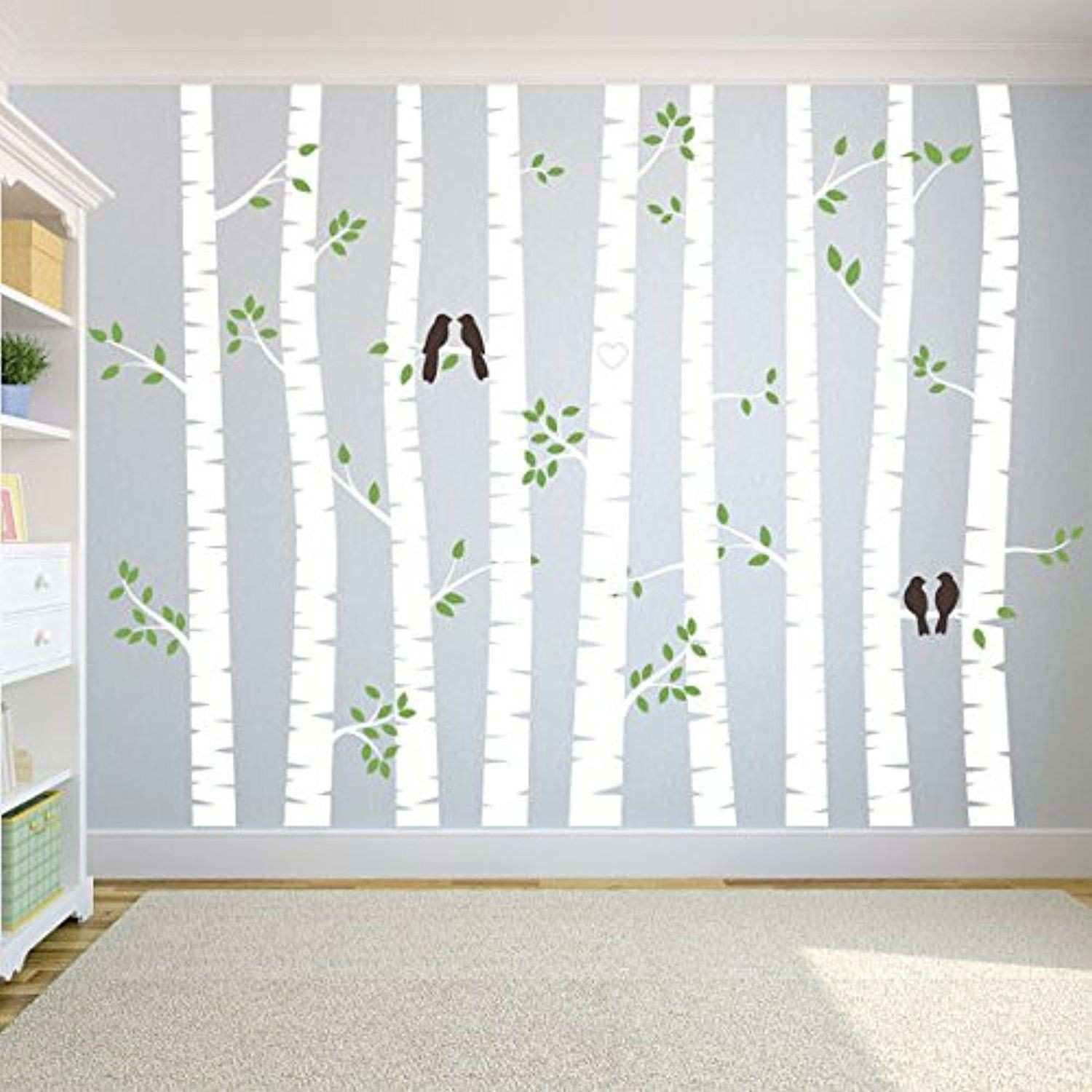Birch Tree Wall Decal Tree Decals Tree Wall Decal Nursery Wall
