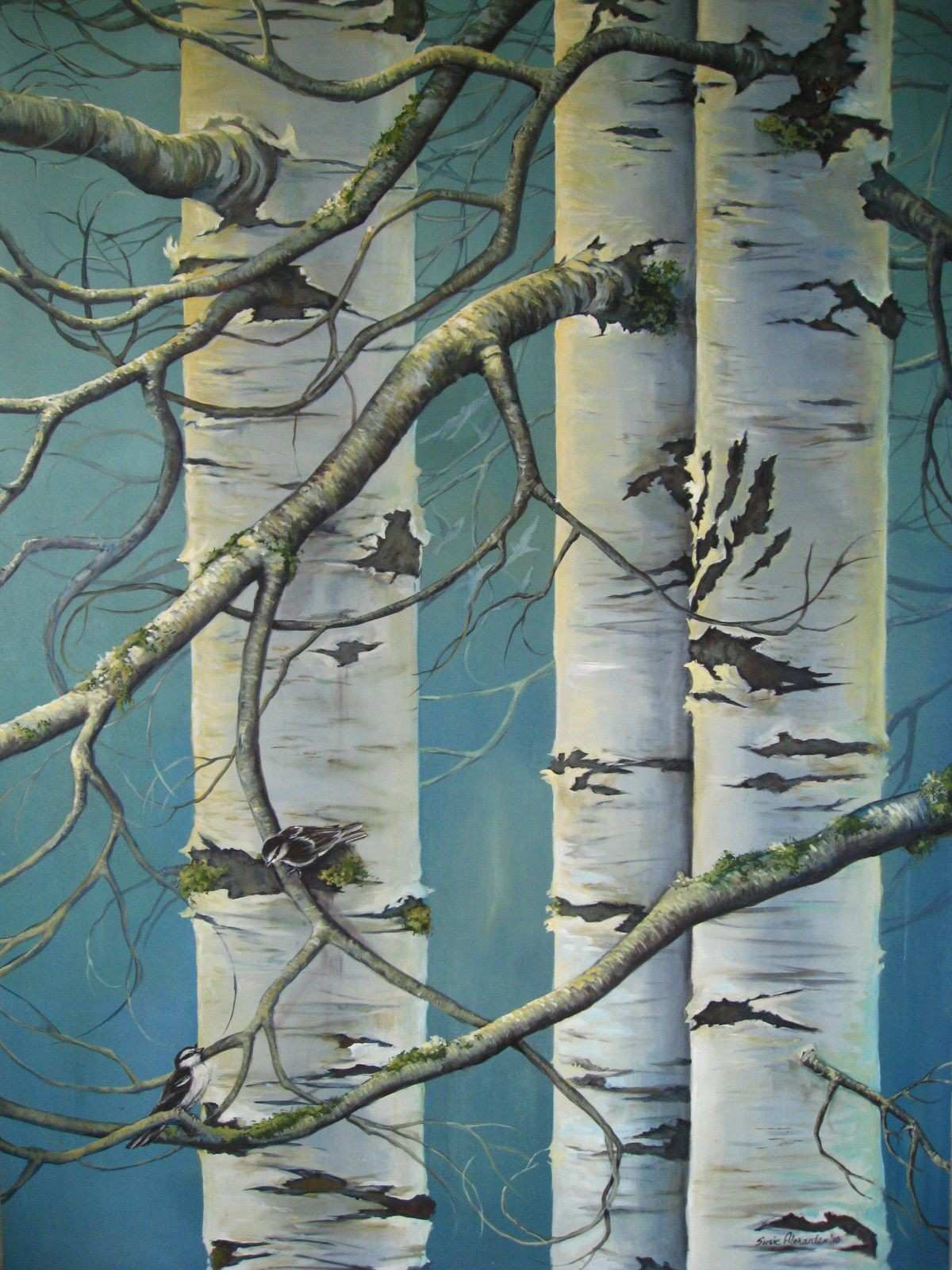 aspen tree Google Search painting Pinterest