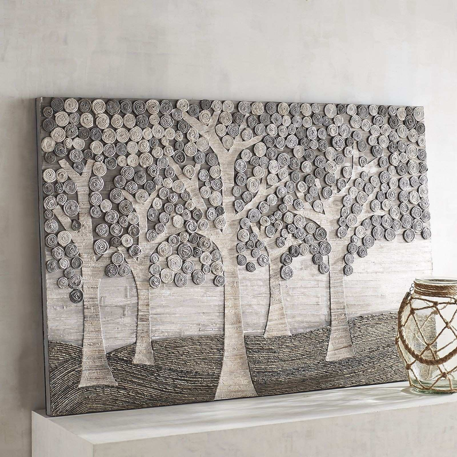 Gray Forest Wall Panel Pinterest