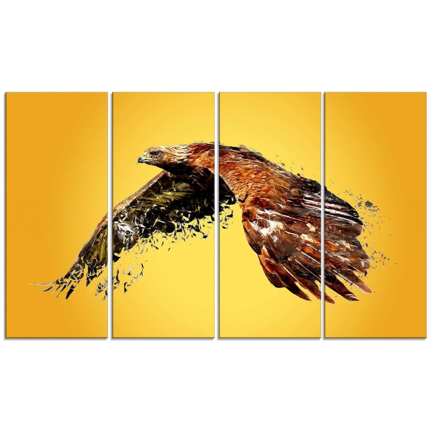 Exelent Bird Metal Wall Art Crest Art & Wall Decor hecatalogfo