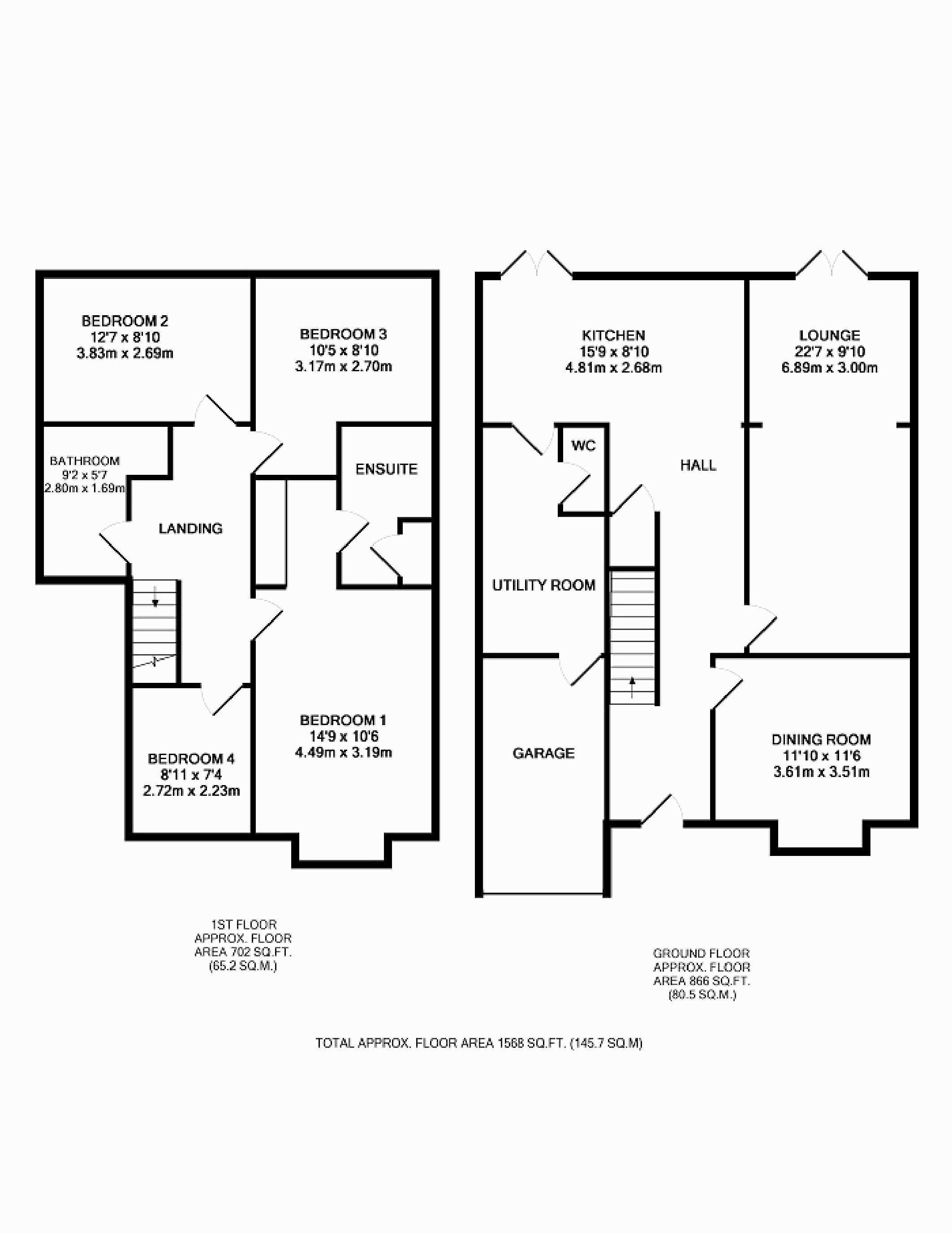Modern Home Plans for Sale New Semi Detached House Layout Plan