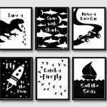 Black And White Wall Prints Awesome Monochrome Nursery Monochrome Prints Nursery Prints Black And Of Black And White Wall Prints
