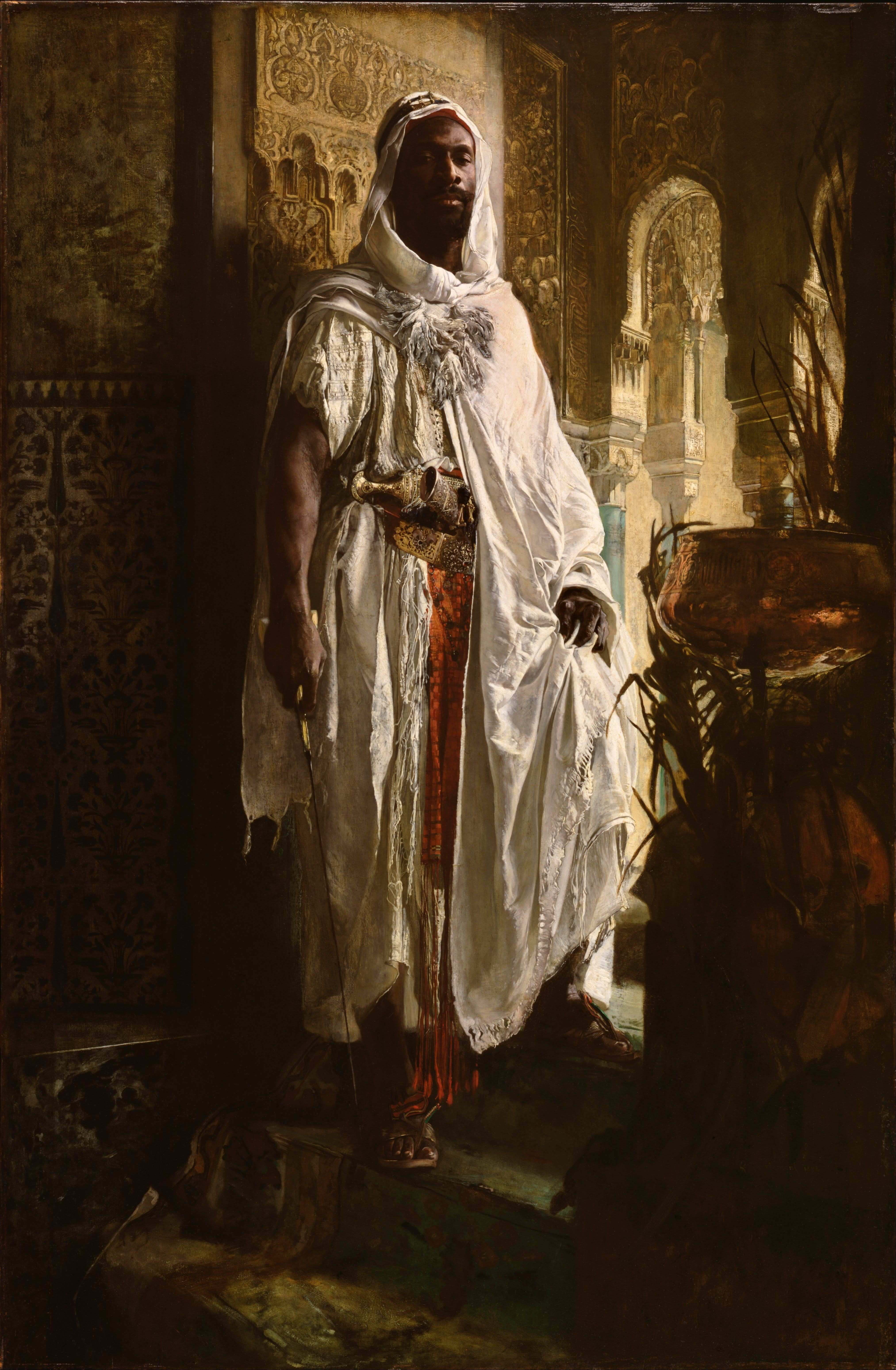 Eduard Charlemont Philadelphia Museum of Art The Moorish Chief