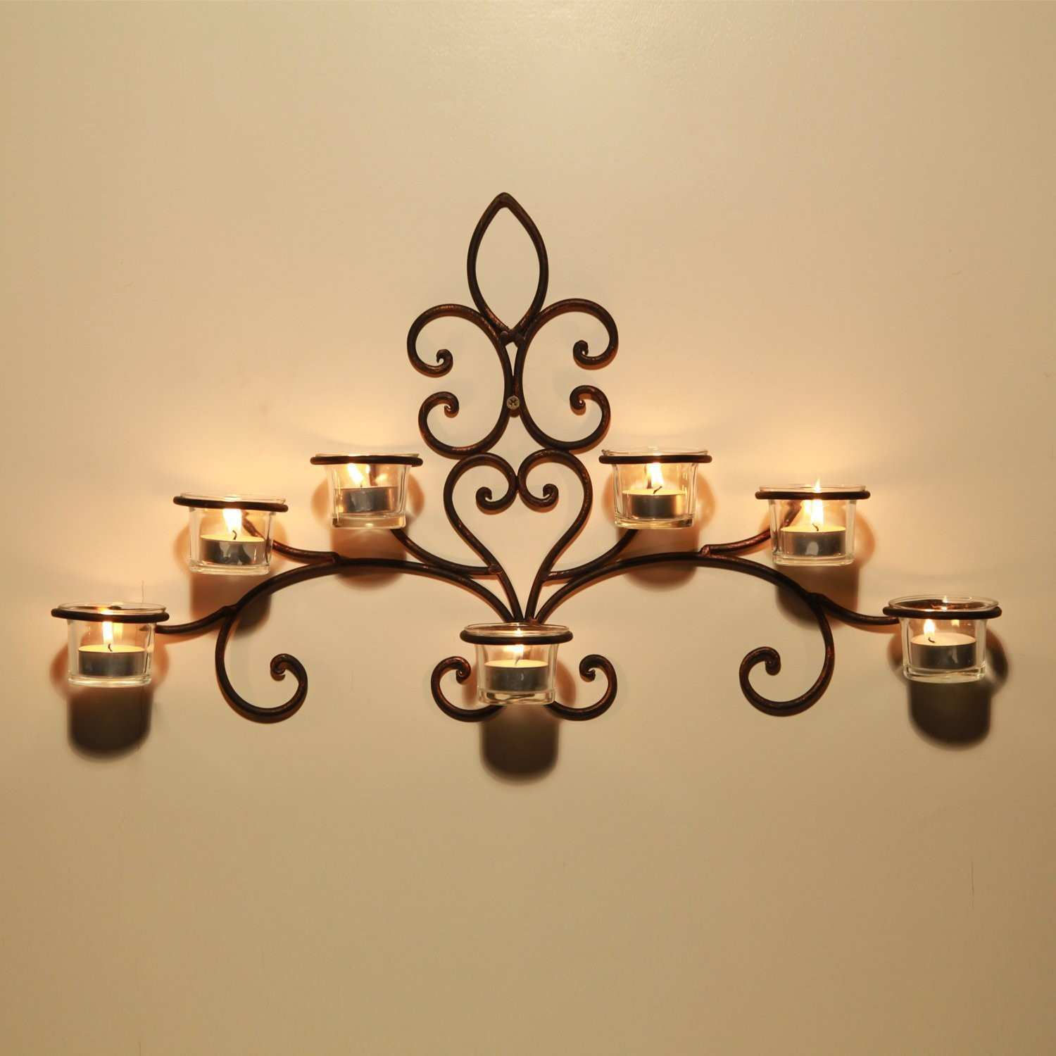 Awesome Black Wrought Iron Wall Decor | Wall Art Ideas