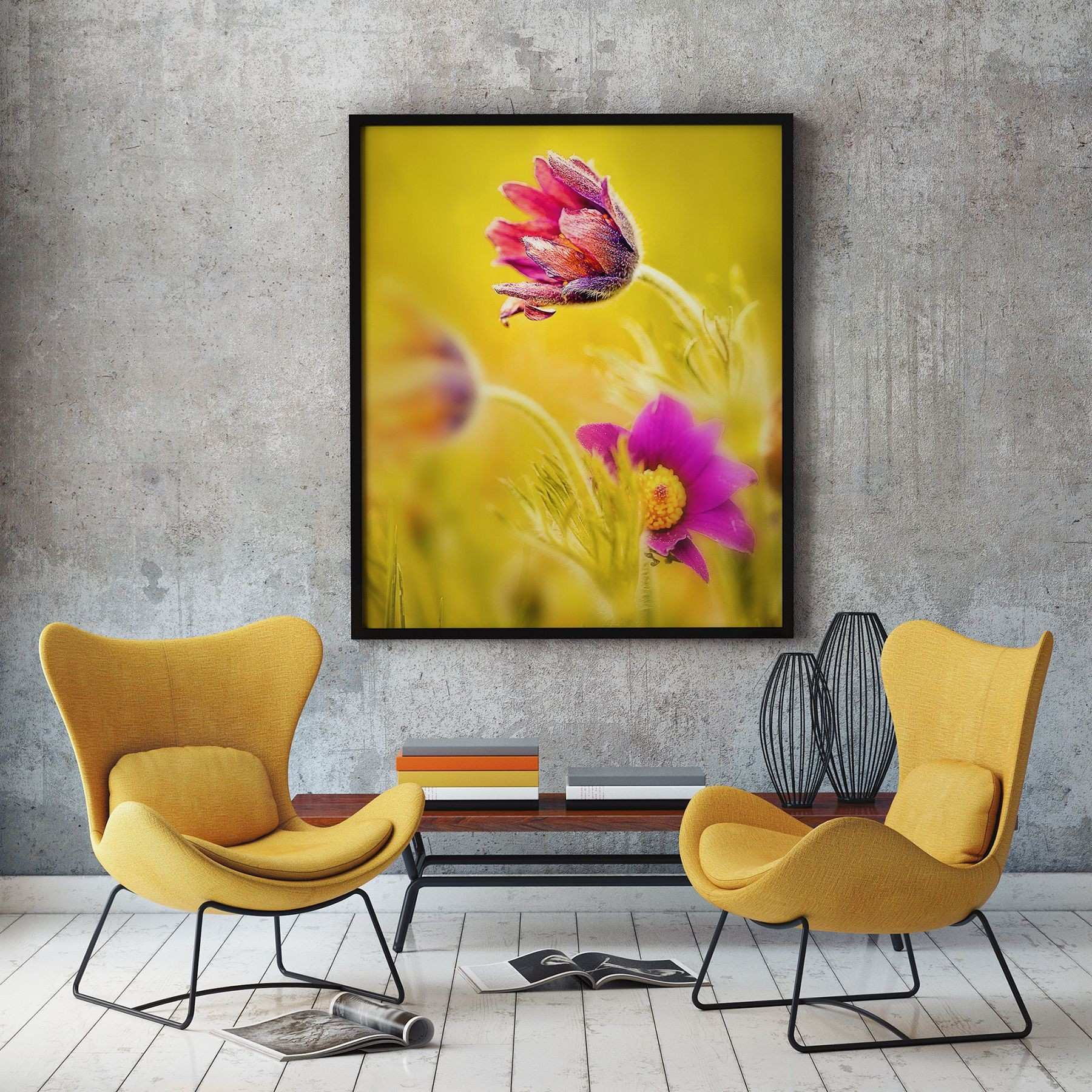 31 Best Yellow Flower Wall Art