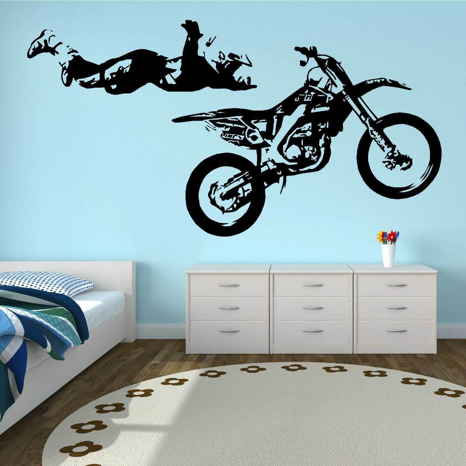 Sticker for Dirt Bike Inspiring Metal Wall Art Panels Fresh 1