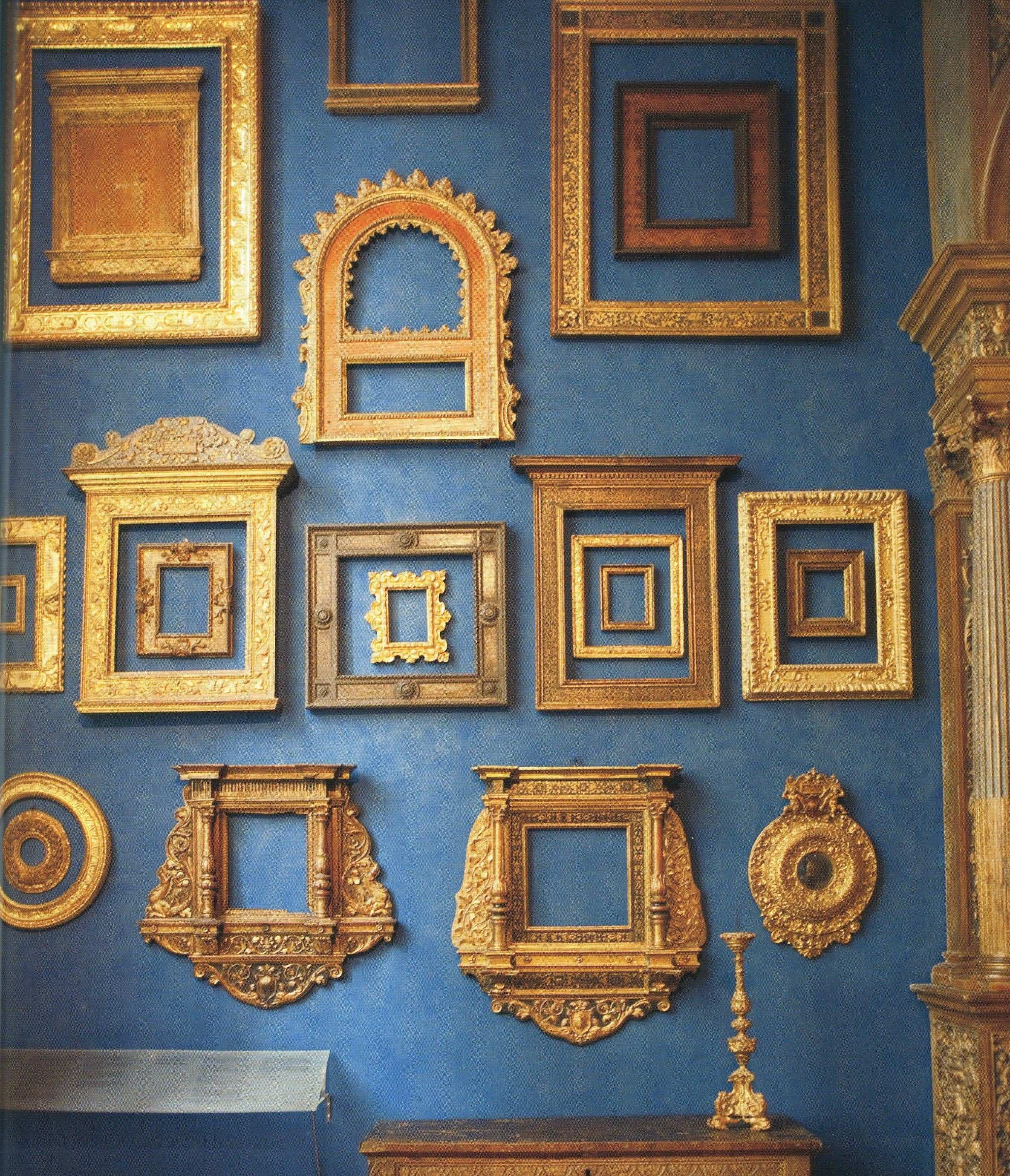 Blue and Gold Picture Frames Fresh Wall Decals for Bedroom Unique 1