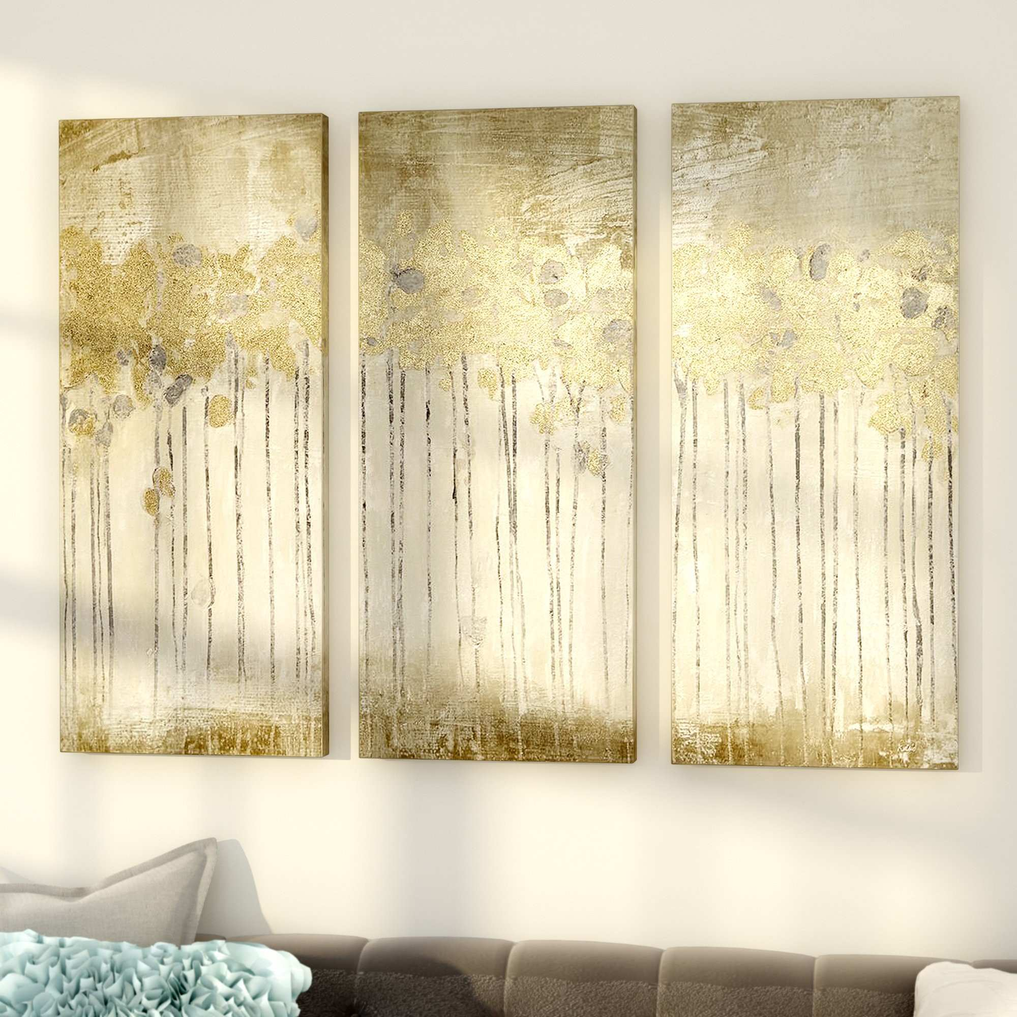 Dorable 3 Piece Metal Wall Art Collection Wall Art Collections