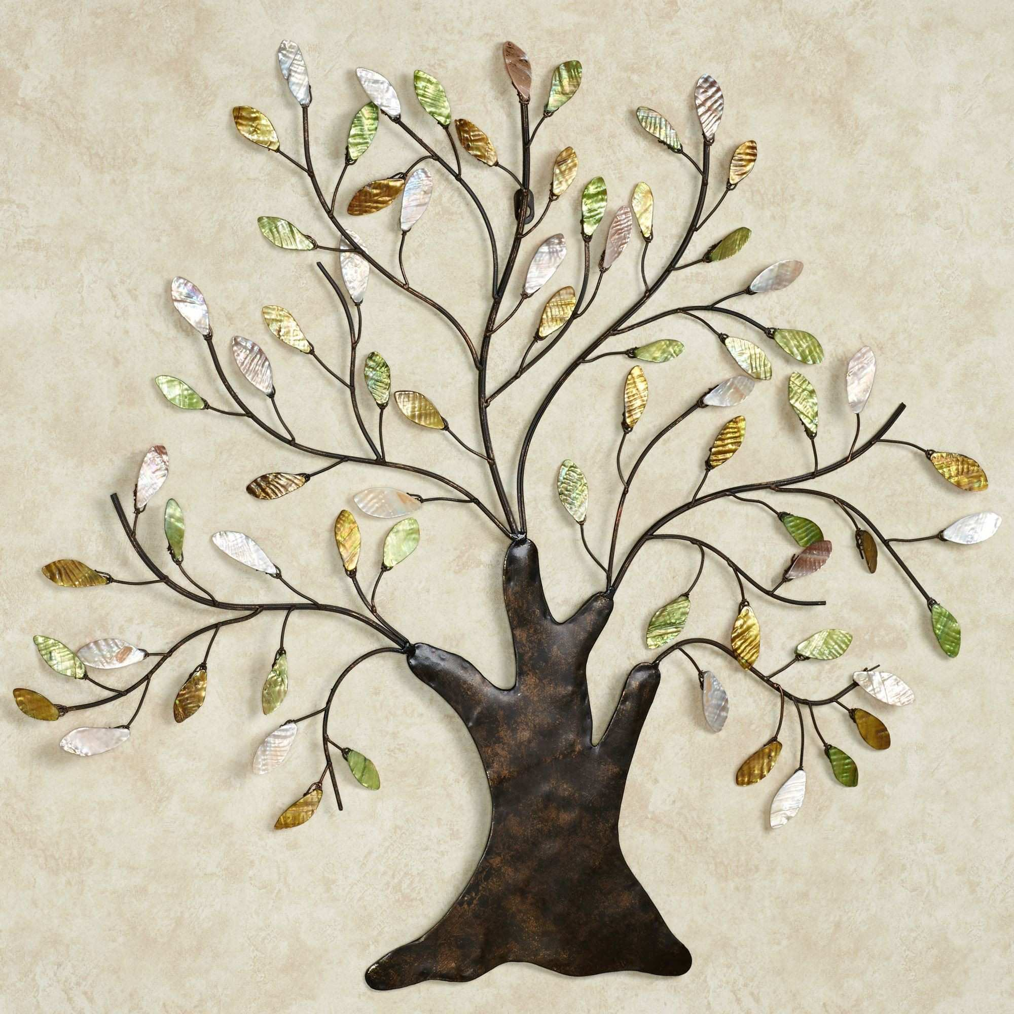 Metal Tree Decoration For Wall Wall Decor Ideas