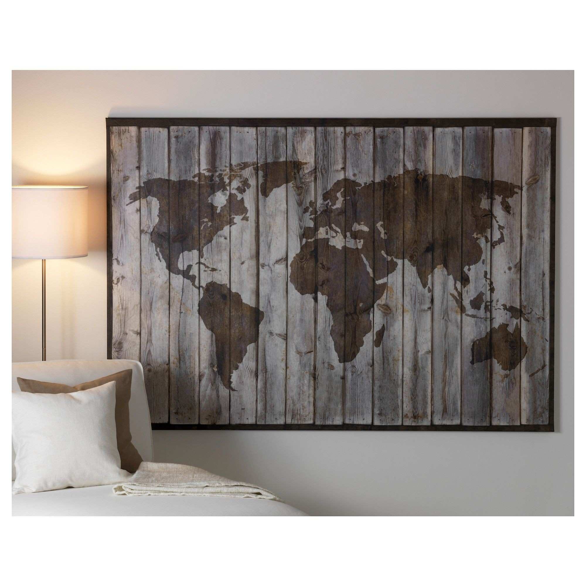 Awesome Old World Atlas Canvas Art Print Box Framed Picture Wall Pic