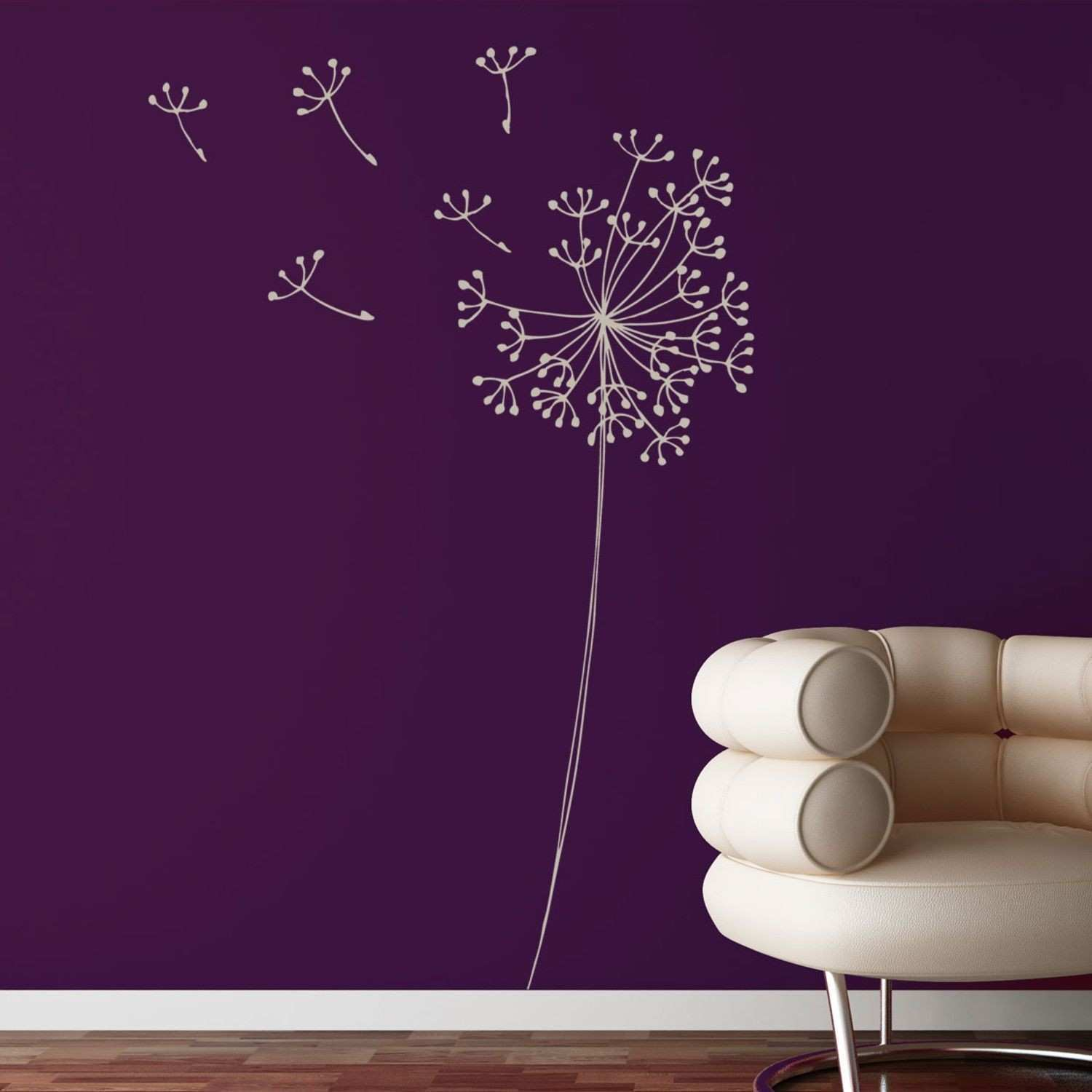 New Purple butterfly Wall Decal