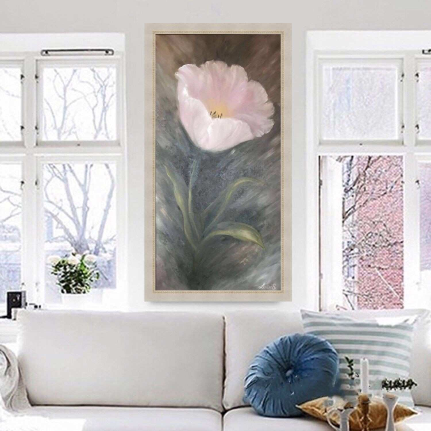 "The picture of the ""Tulip"" oil on canvas framing frame – shop"
