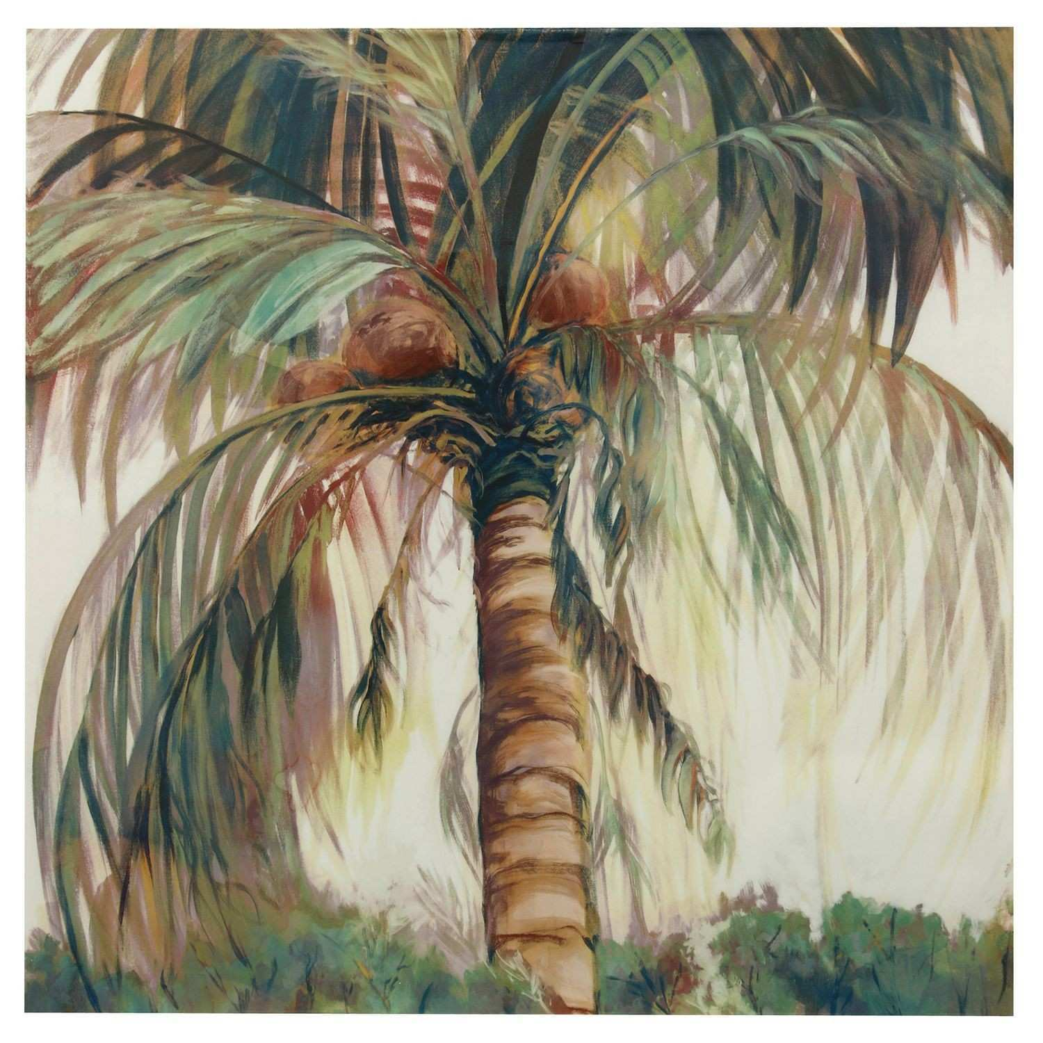 Palm Tree Hand Painted Canvas