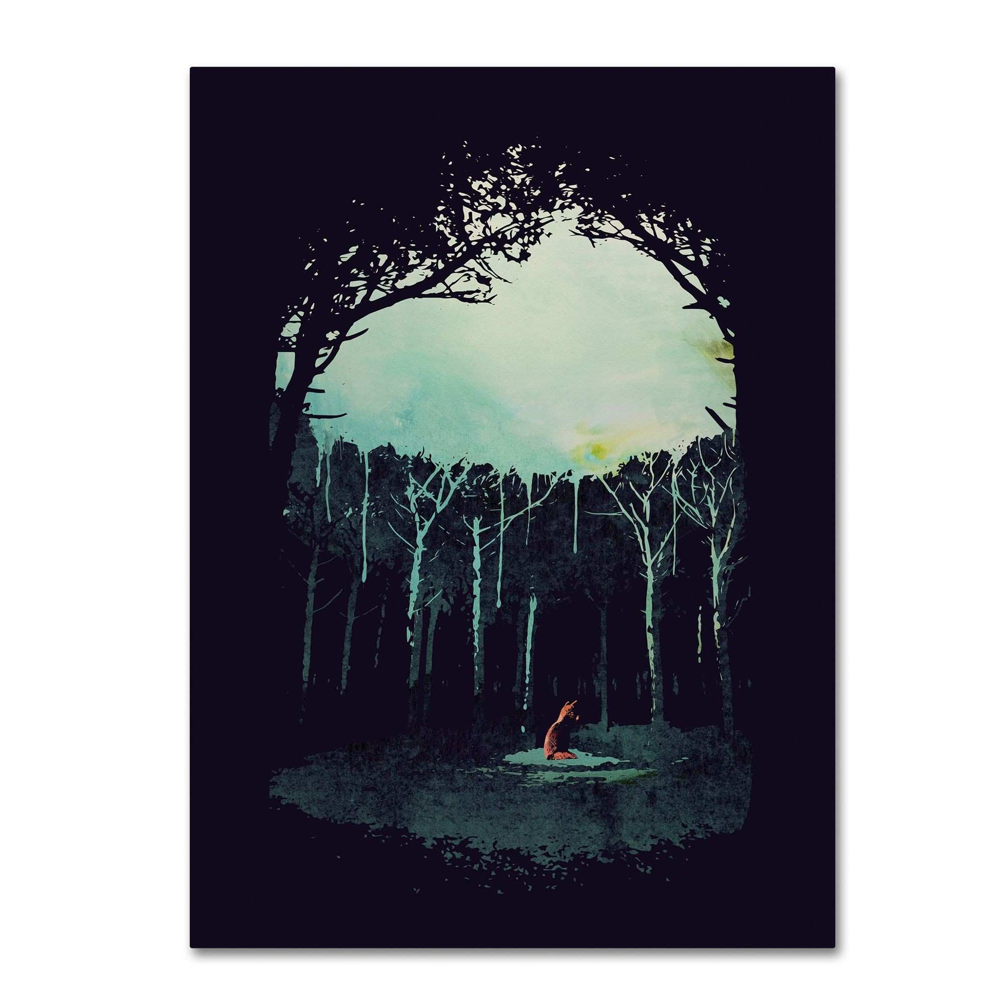 Robert Farkas Deep In The Forest Canvas Art Products