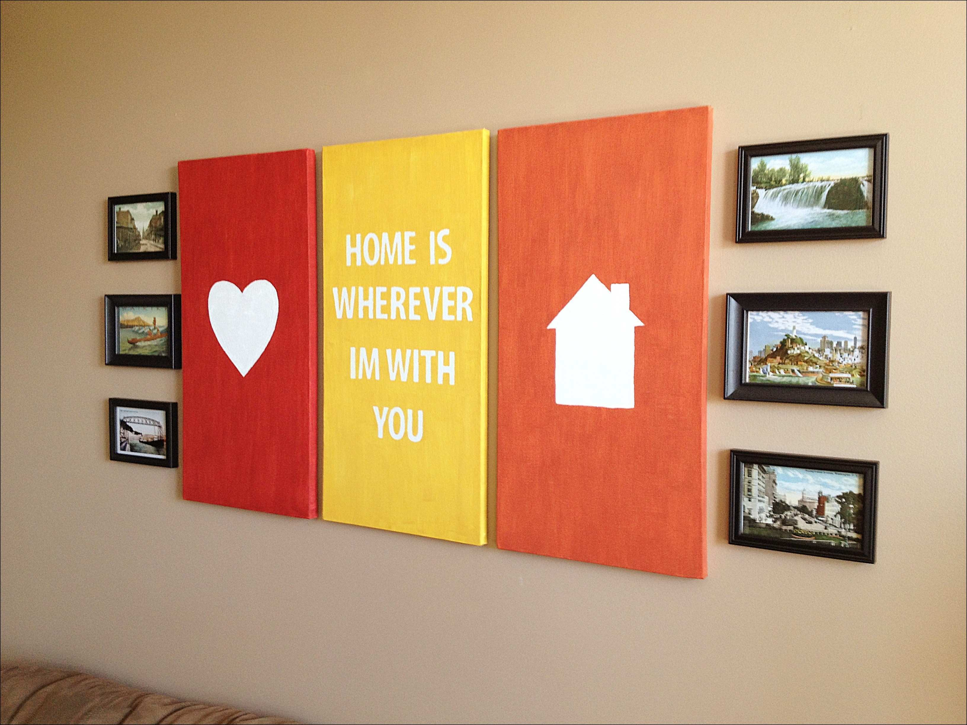 Awesome Canvas Wall Art With Words Crest Wall Art Collections