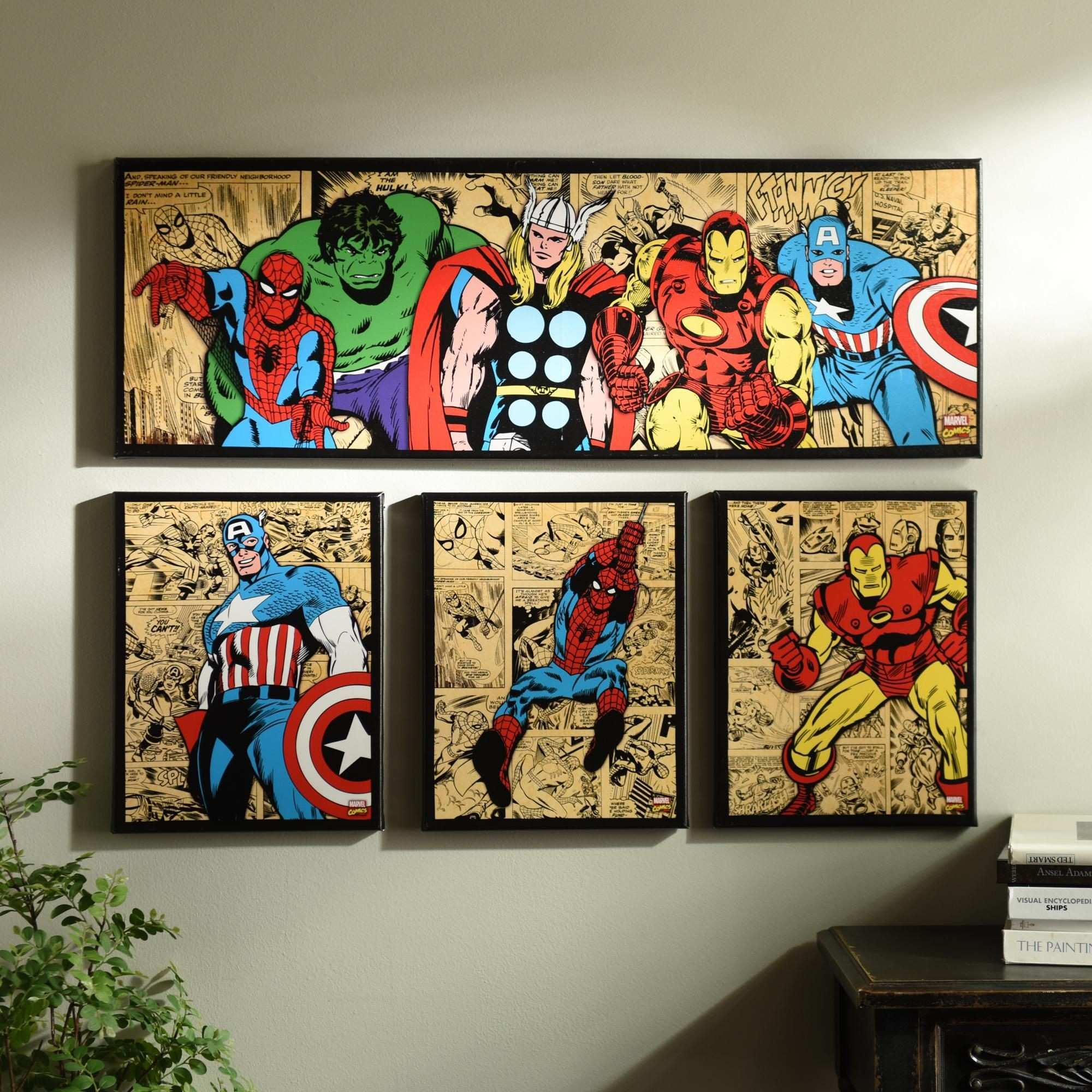 37 Awesome Spiderman Canvas Wall Art