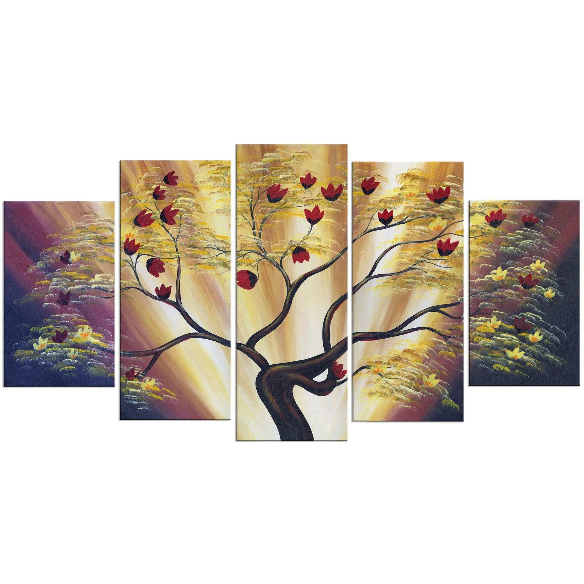 41 Awesome Stock Tree Canvas Painting