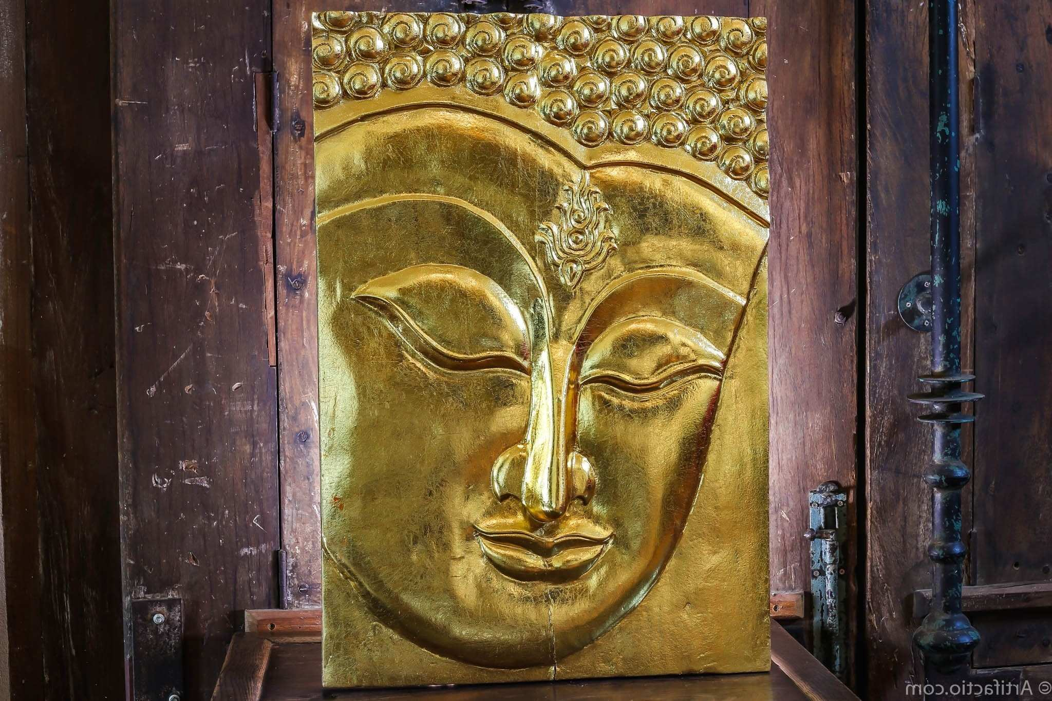 Carved Wood Wall Art India Elegant Fancy Buddha Wood Wall Art ...