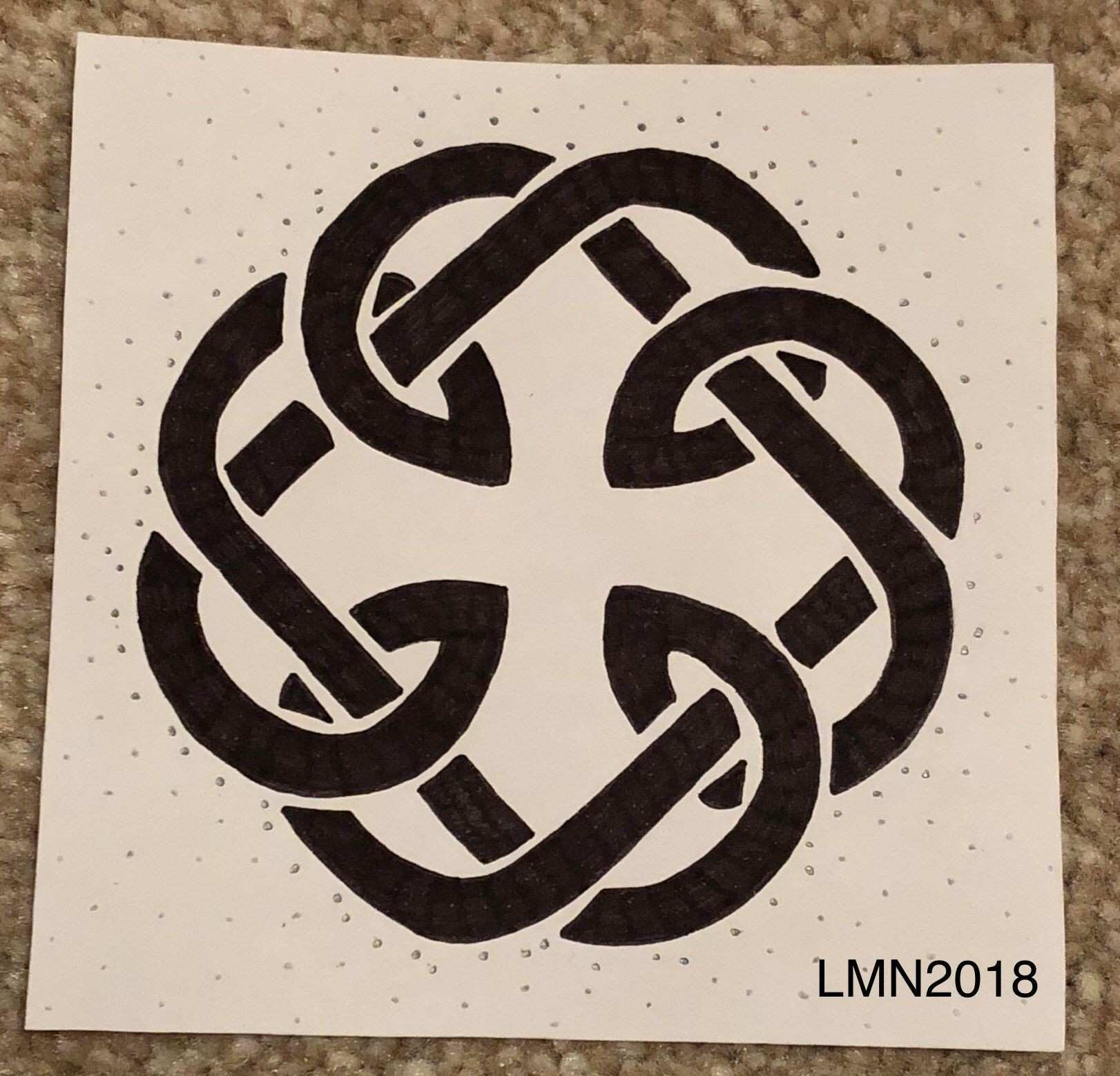 Father Daughter Celtic Knot Drawing Drawings