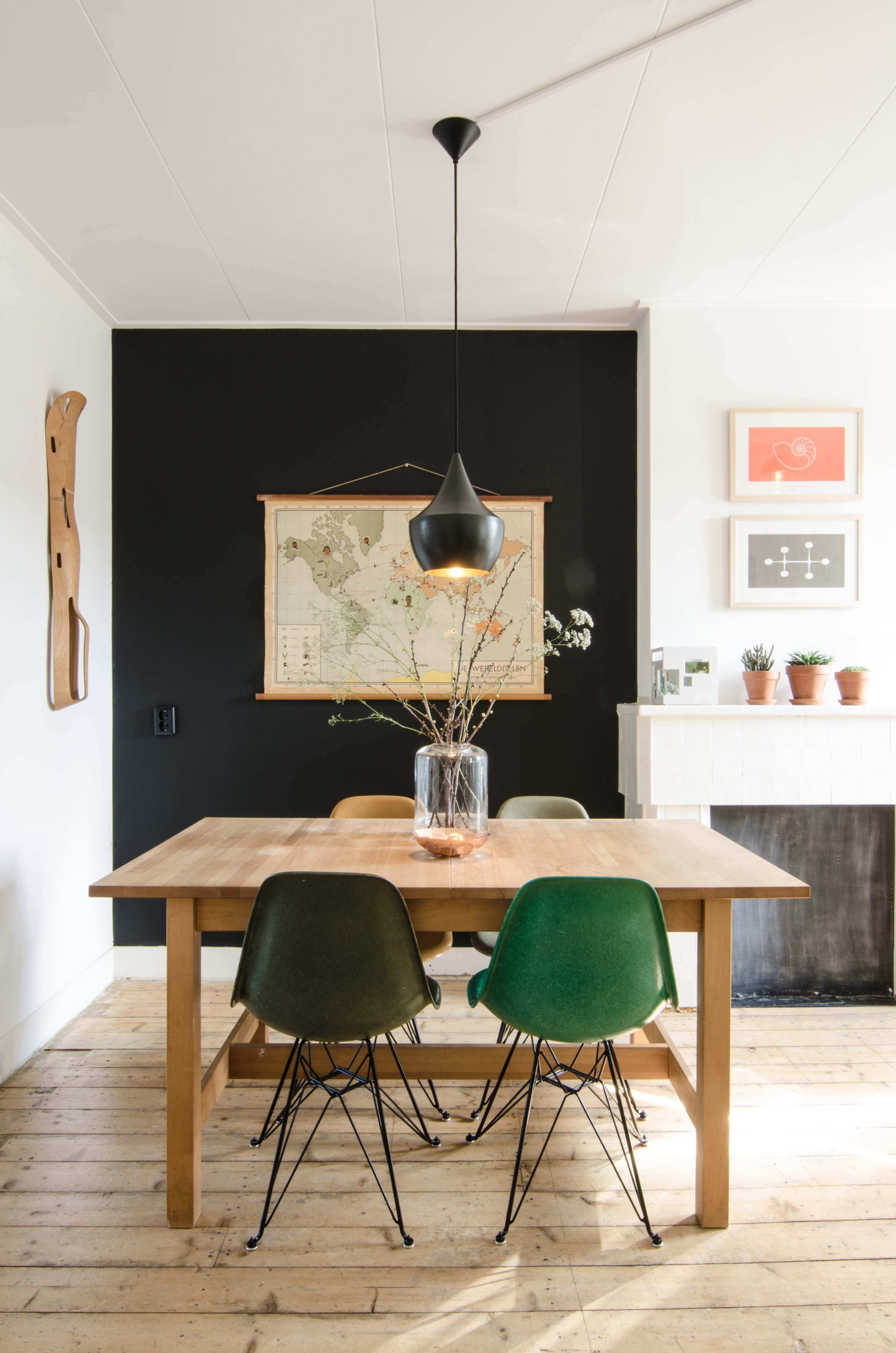 Eames in Amsterdam kitchen dining room home decor and interior