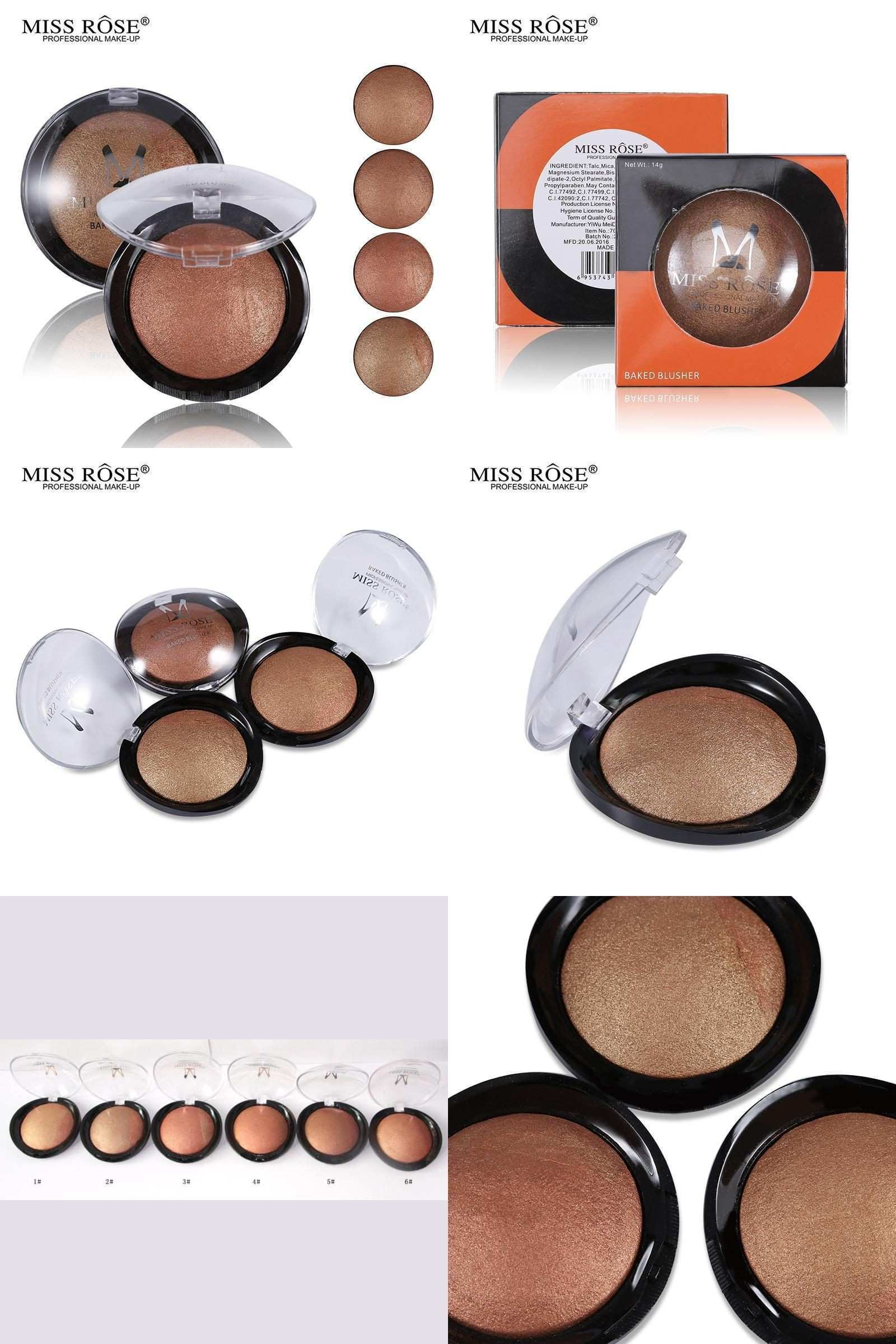 Visit to Buy] 1PC Women Hot Sale Bronzer Blush Palette Face Makeup