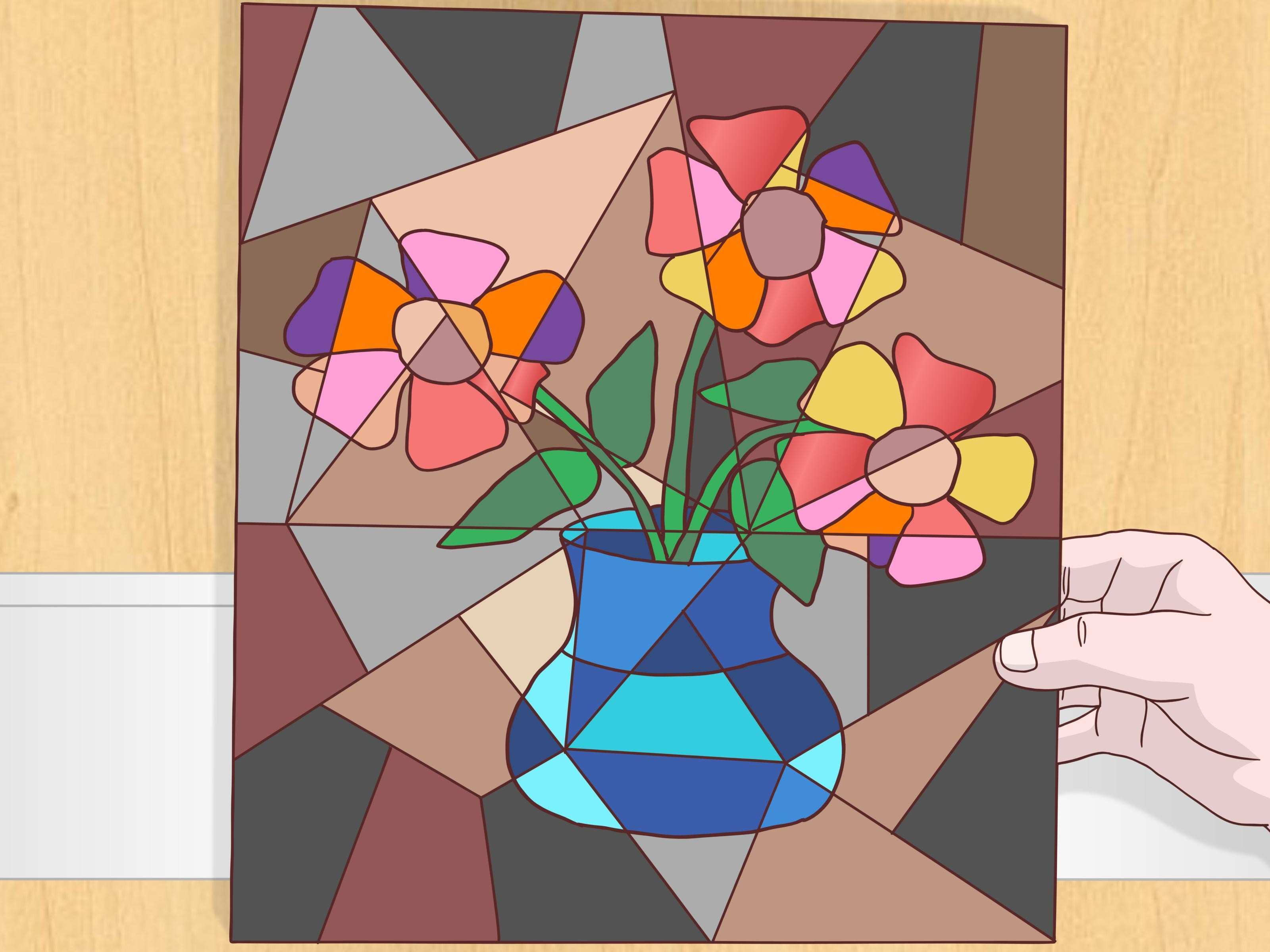How to Do a Cubist Style Painting 14 Steps with