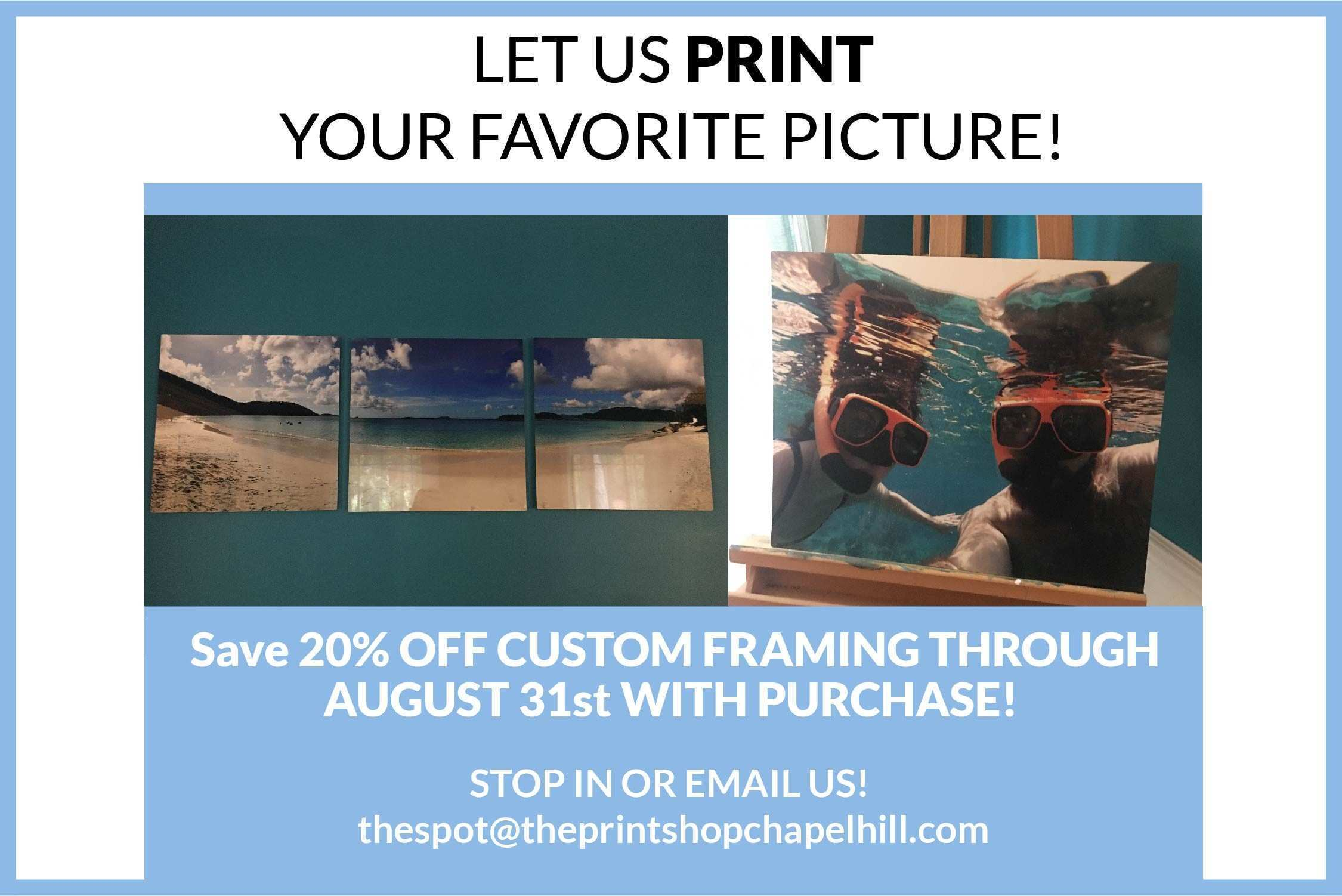The Frame & Print Shop – The Triangle s Spot for Prints Custom