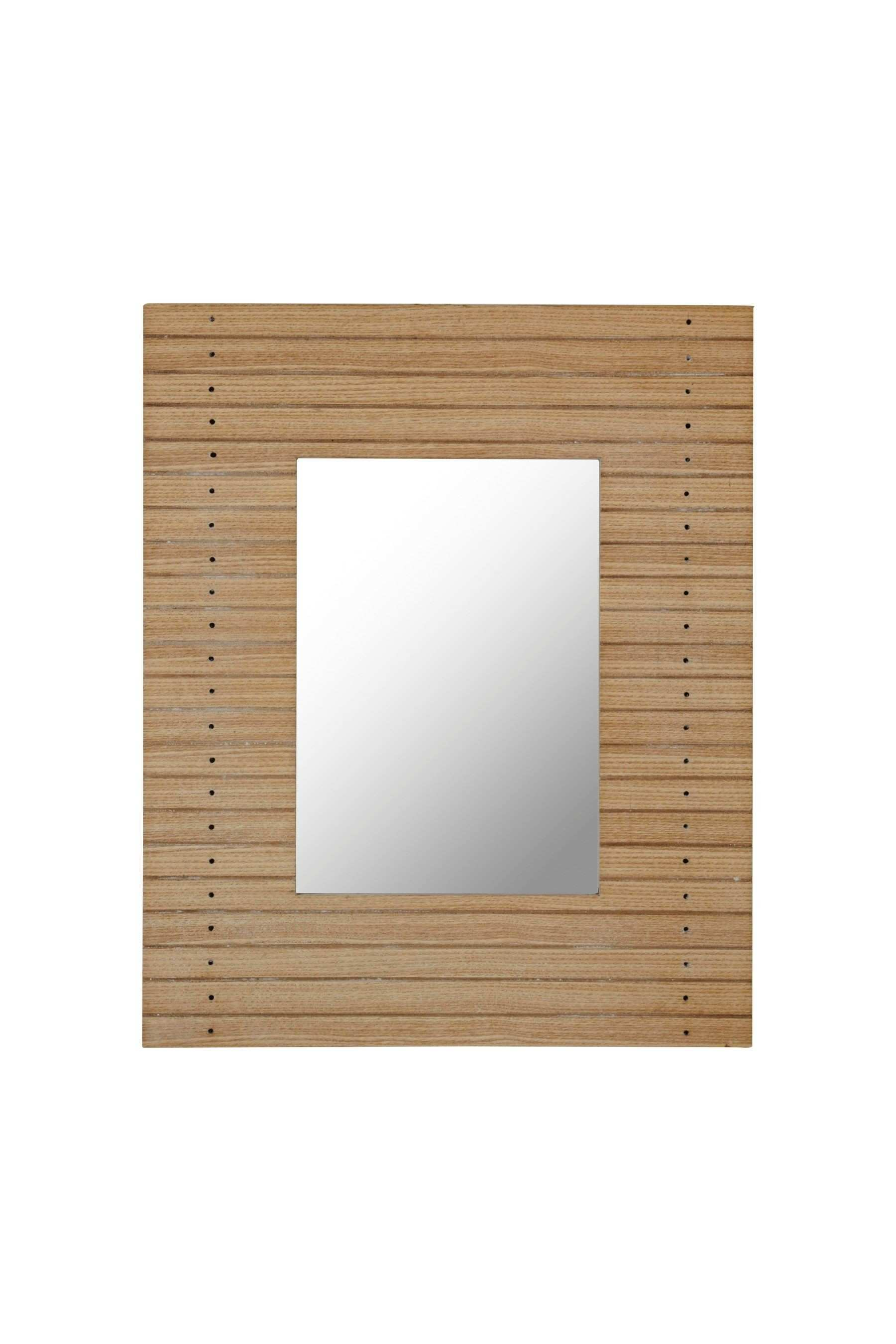 Buy Slat Wood Wall Mirror from the Next UK online shop