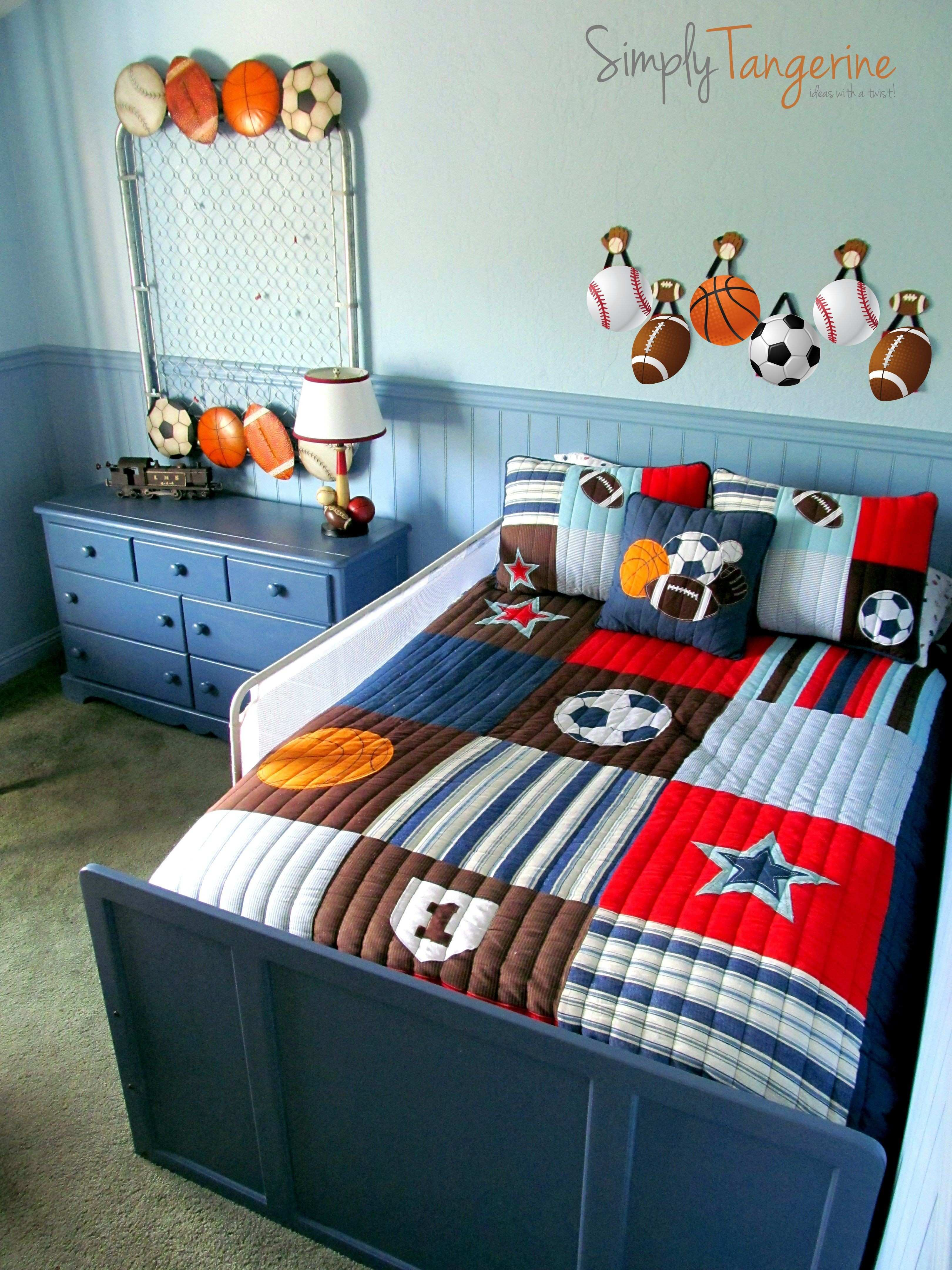 Sports Decor for toddler Room Best 12 Year Old Boy Room Ideas