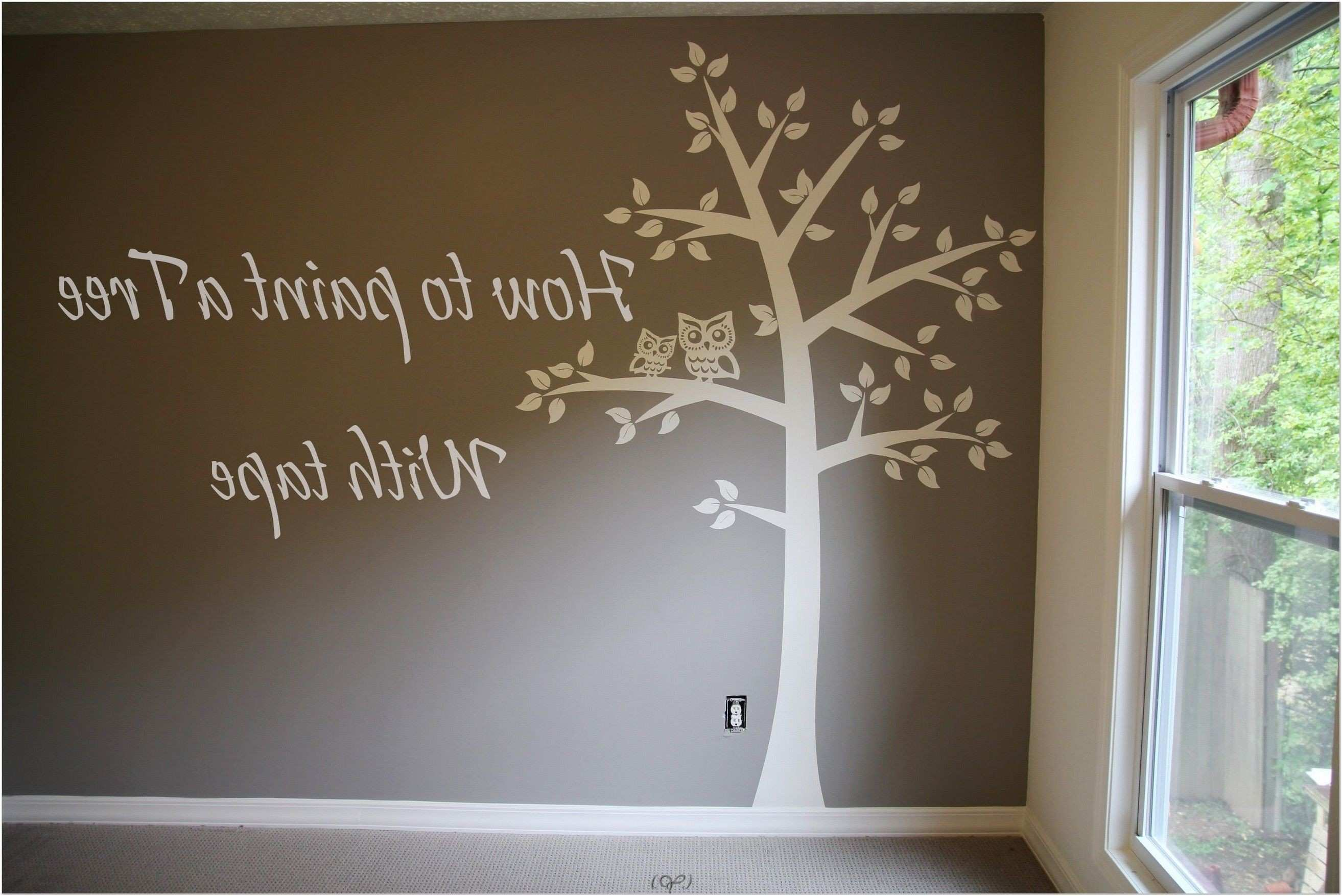 Wall Decoration Painting for Kids Awesome Appealing Tree Wall
