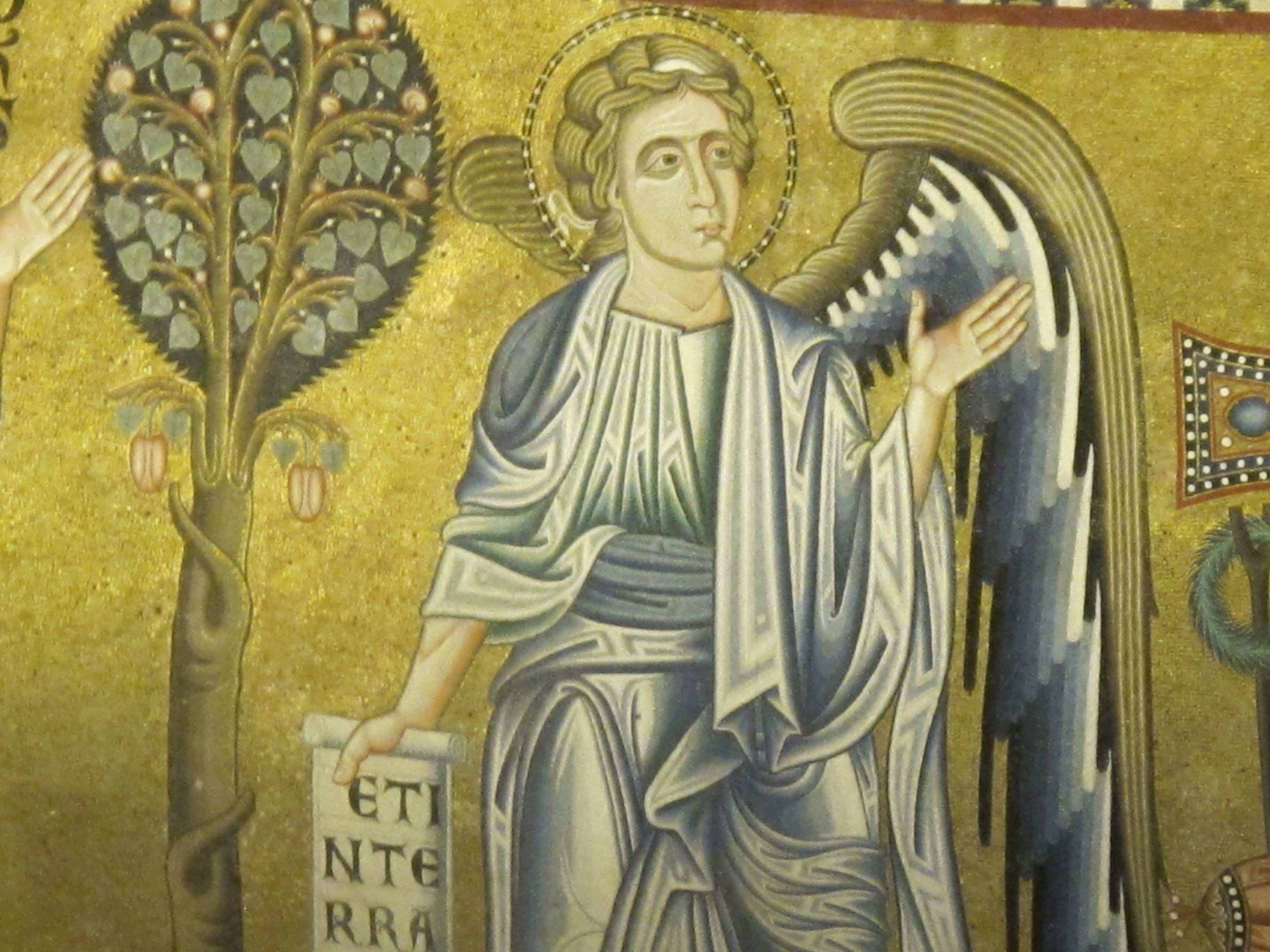 Mosaic detail at St Paul Outside the Walls