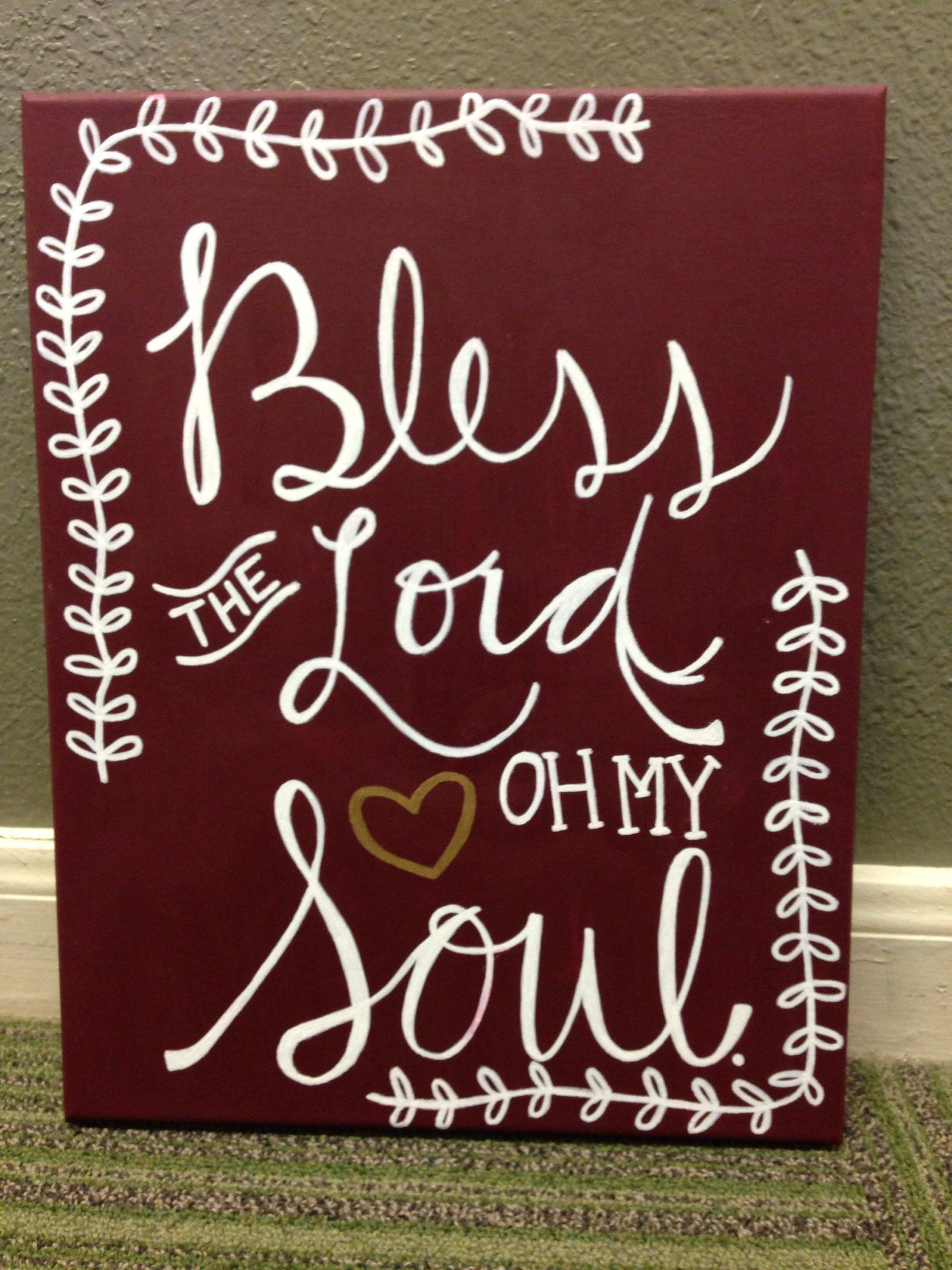 DIY canvas Christian canvas bible verse canvas song lyric canvas