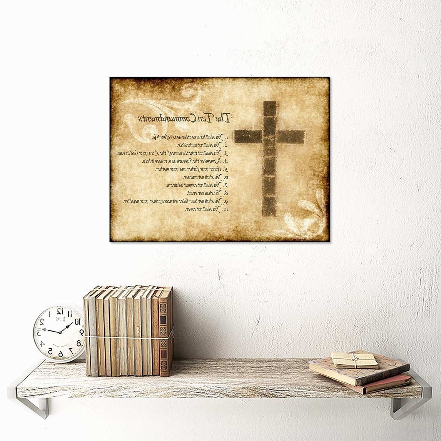 Christian Wall Art Prints New 11 Unique Christian Wall Decor and the ...