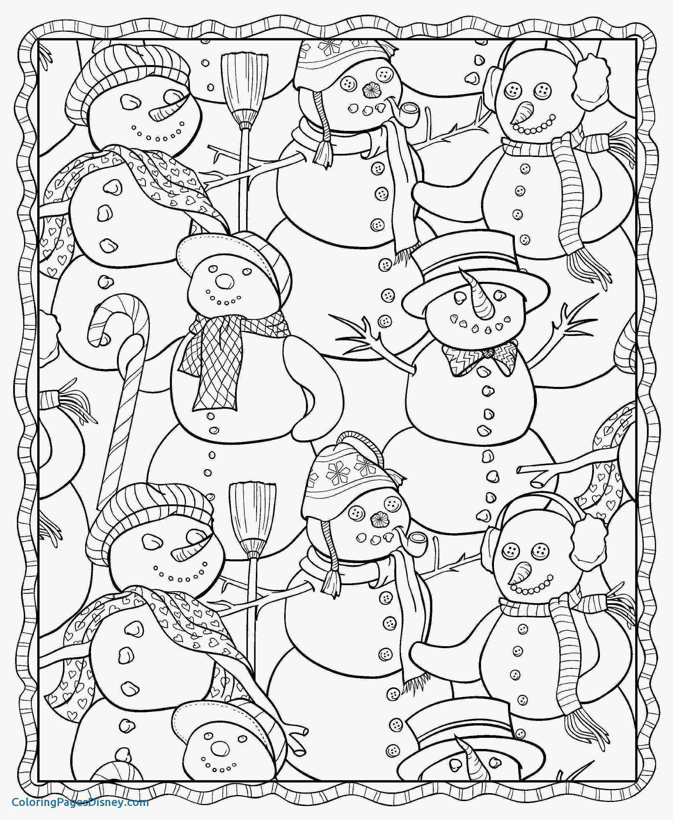 Disney Coloring Pages Christmas