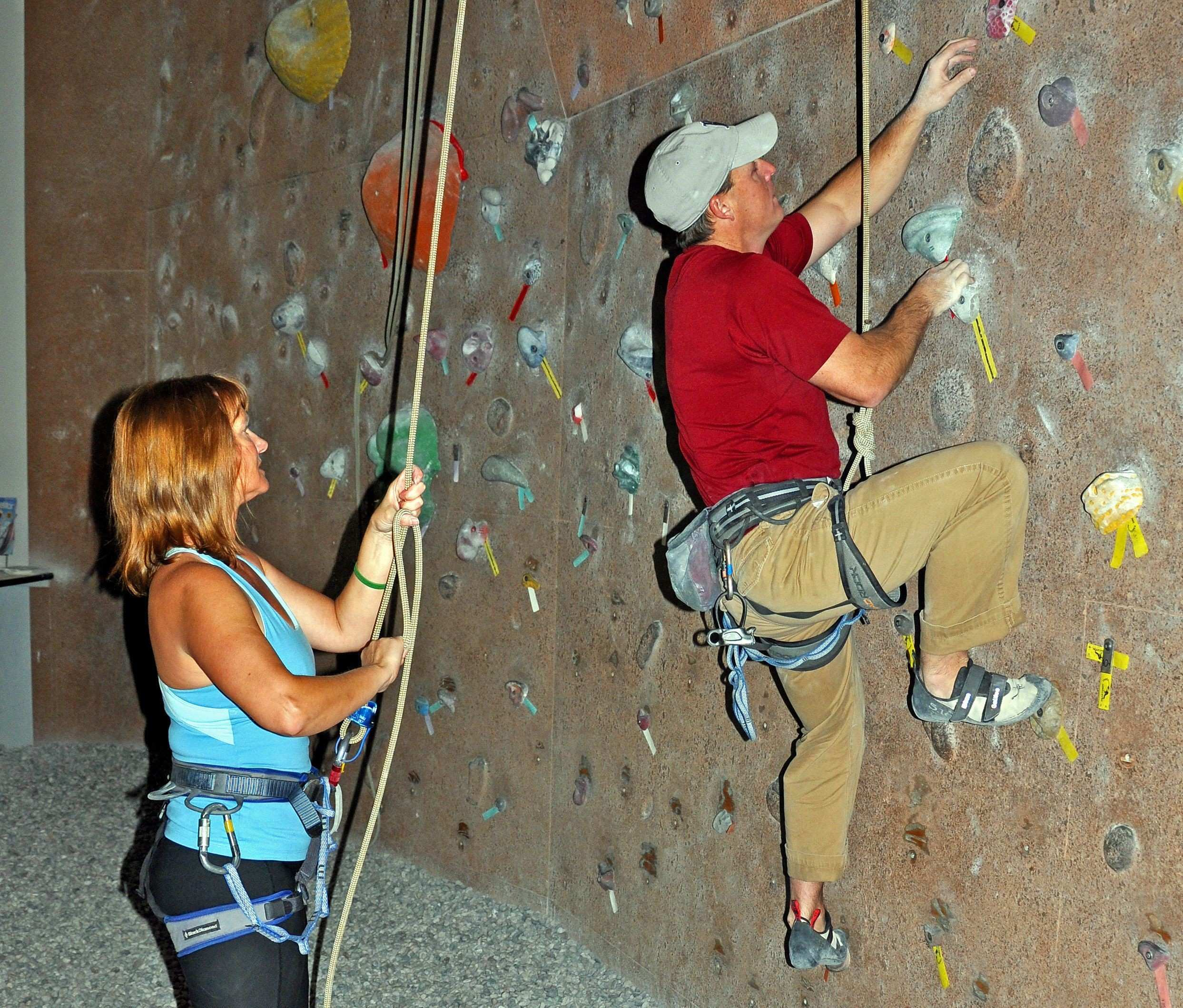Learn How to Rock Climb at an Indoor Gym