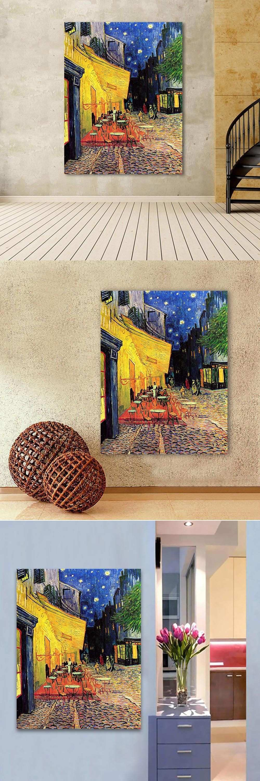 HDARTISAN Canvas Art Wall For Living Room Vincent Van Gogh